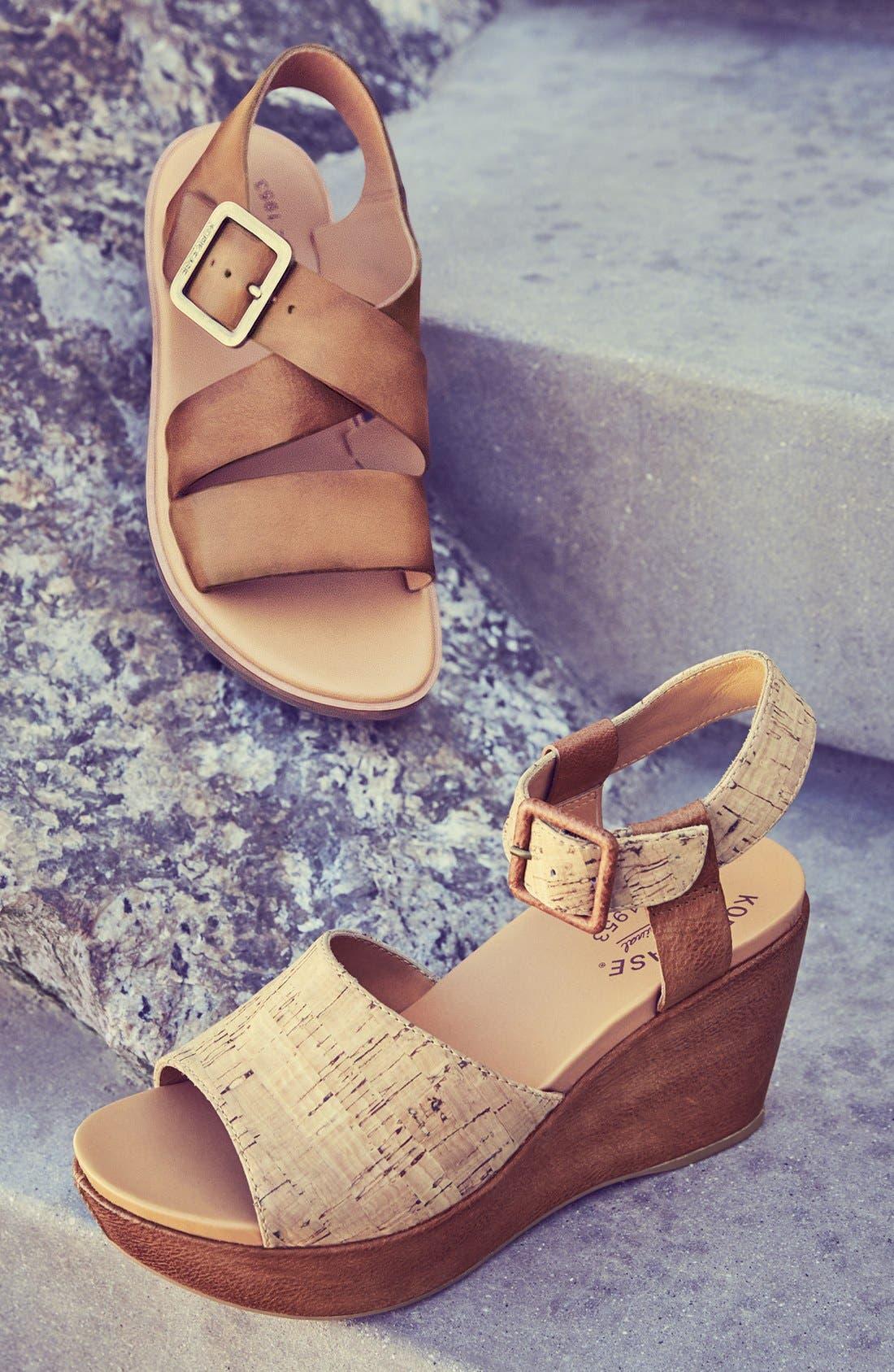 Alternate Image 5  - Kork-Ease® 'Nara' Flat Sandal (Women)