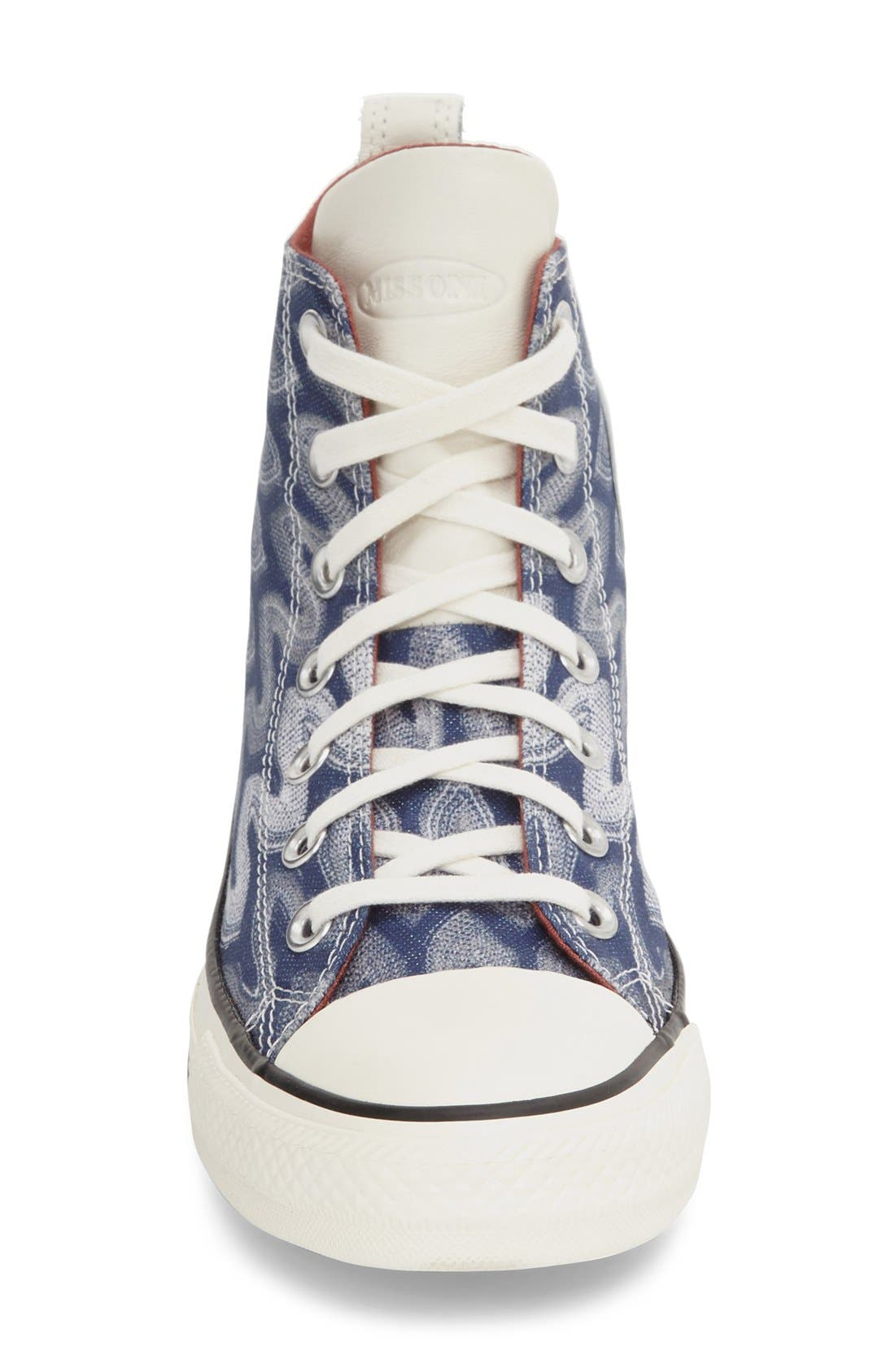 Alternate Image 3  - Converse x Missoni Chuck Taylor® All Star® 'Flame' High Top Sneaker (Women)