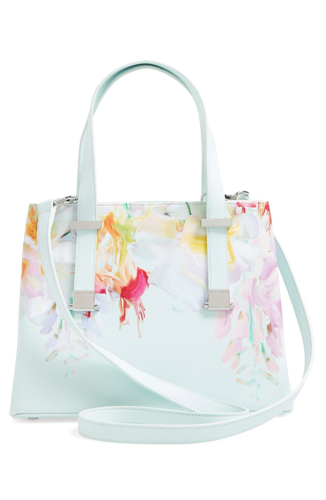 Alternate Image 3  - Ted Baker London 'Hanging Gardens' Floral Print Faux Leather Shopper