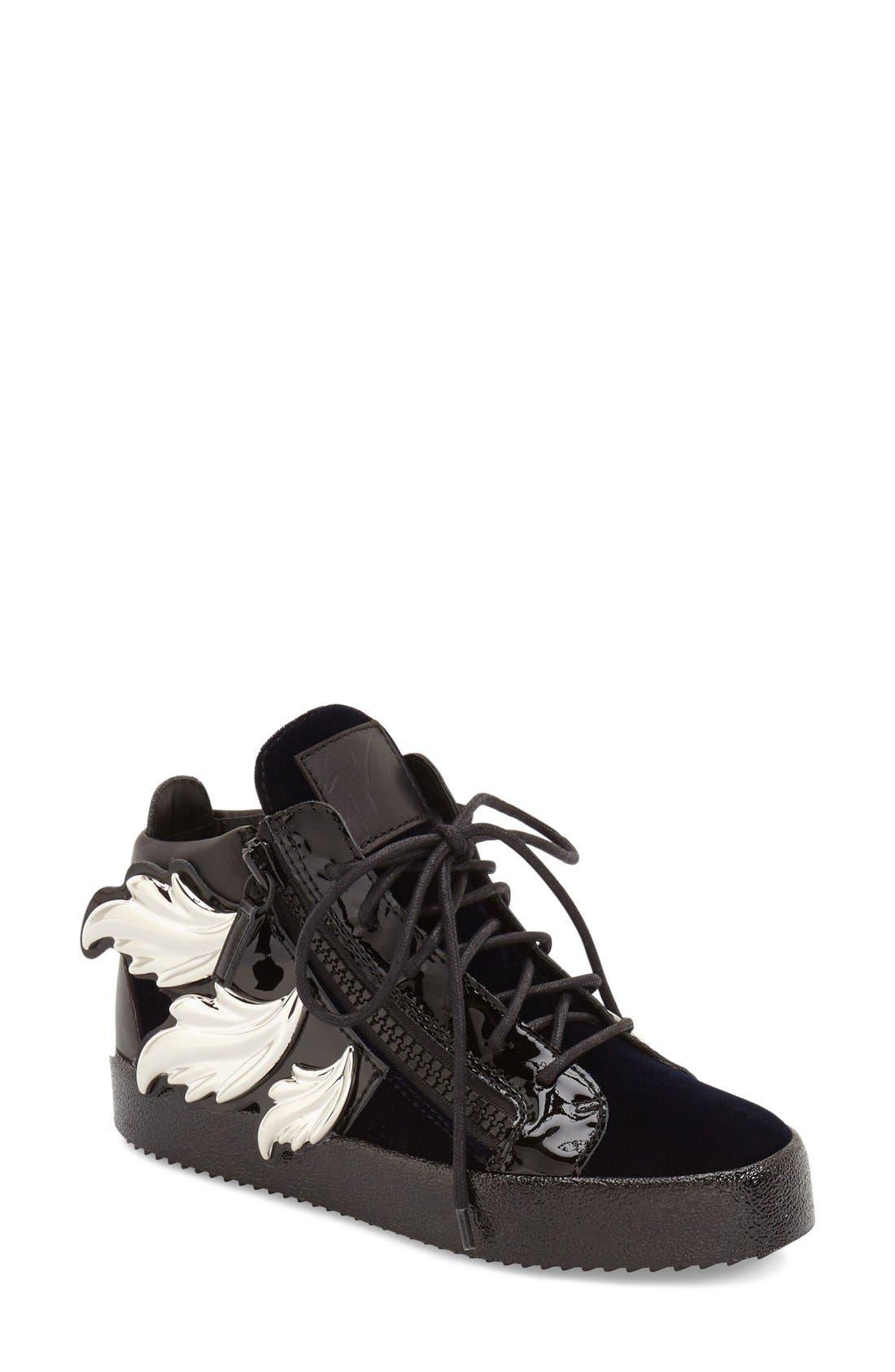 Alternate Image 1 Selected - Giuseppe Zanotti 'May London' High Top Sneaker (Women)
