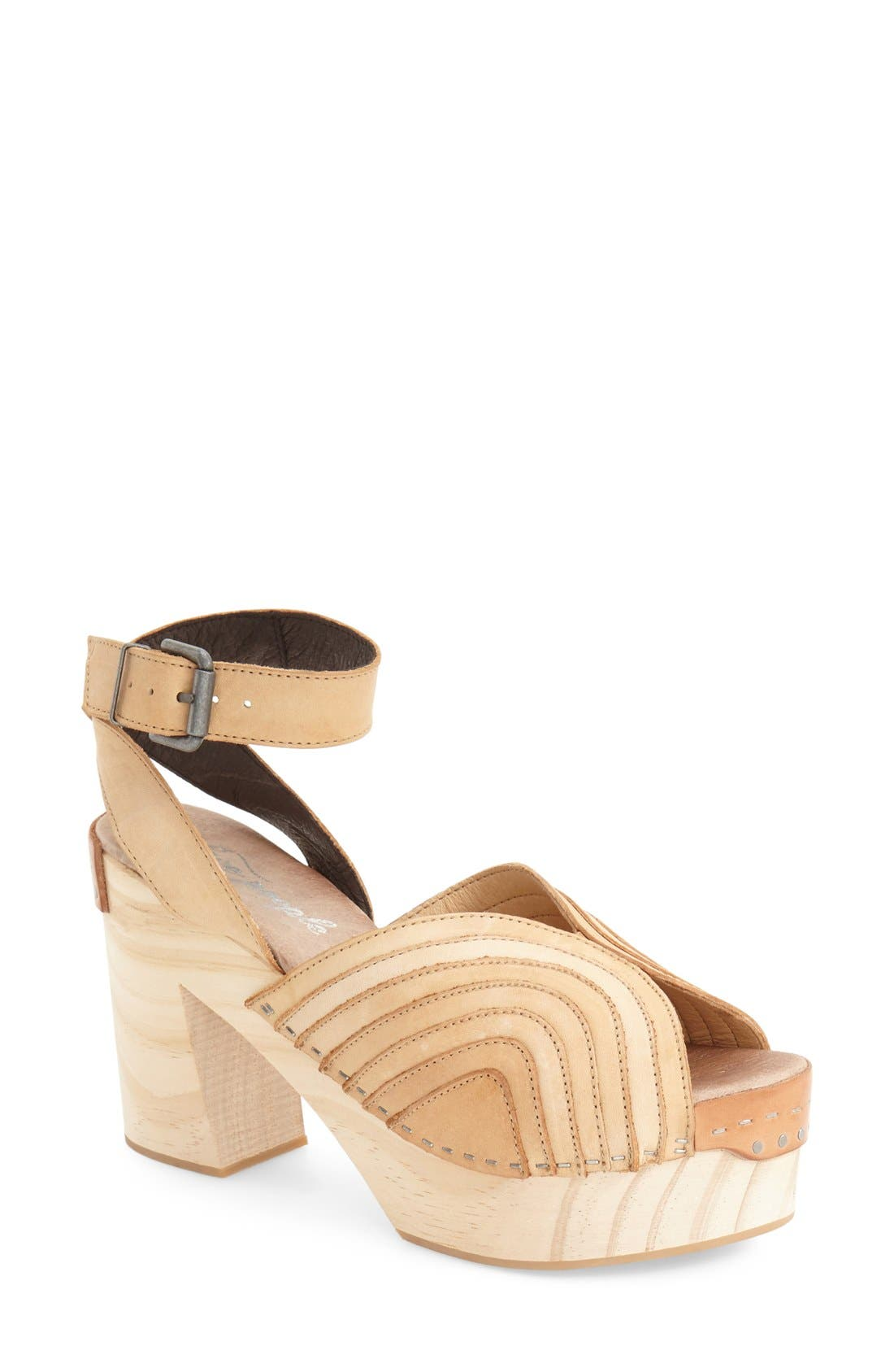Alternate Image 1 Selected - Free People 'Orion' Open Toe Clog (Women)