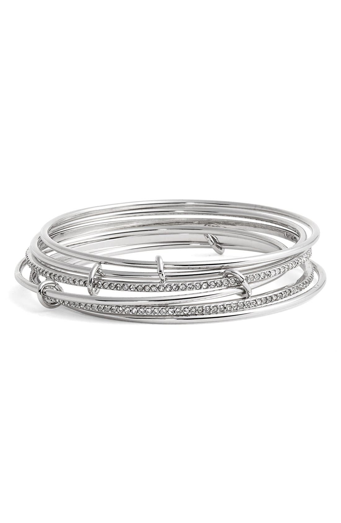 Alternate Image 1 Selected - kate spade new york 'stack attack' bangles (set of 2)
