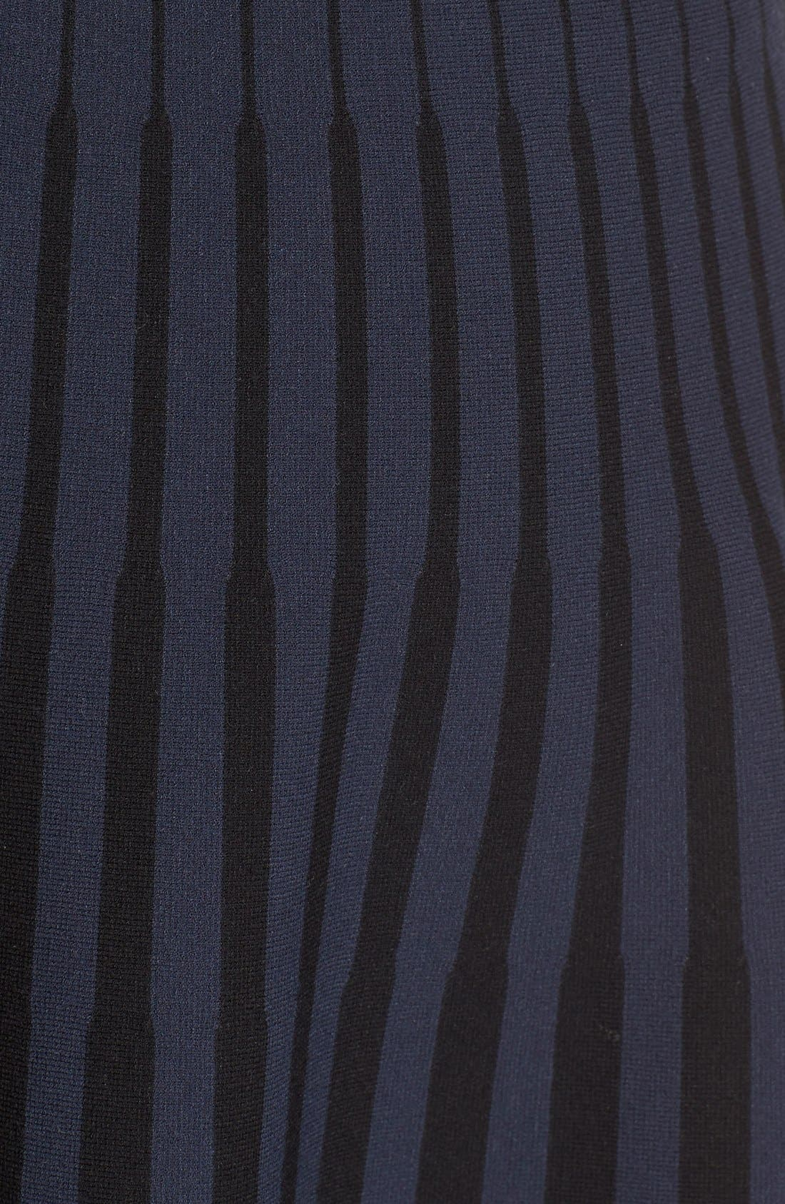 Alternate Image 3  - Tomas Maier Stripe Knit Flared Skirt