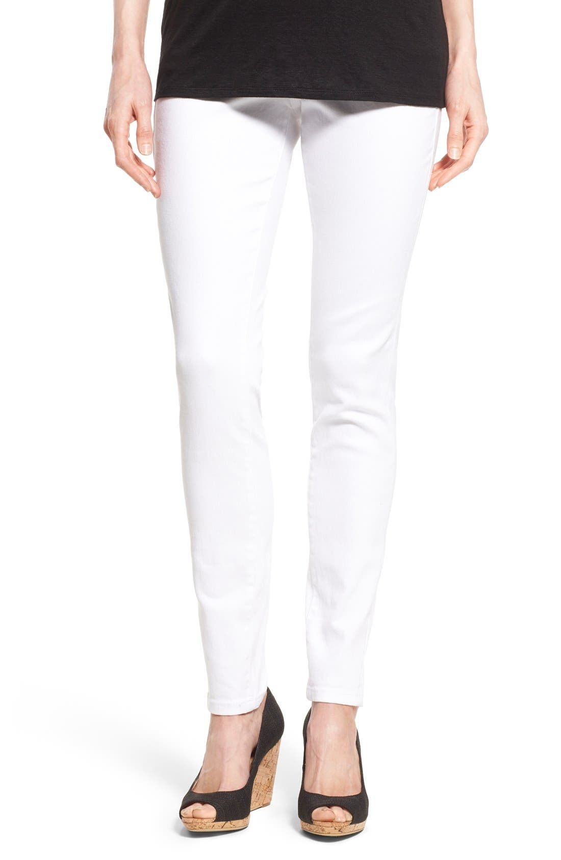 Jag Jeans Nora Pull-On High Waist Stretch Skinny Jeans (Petite)