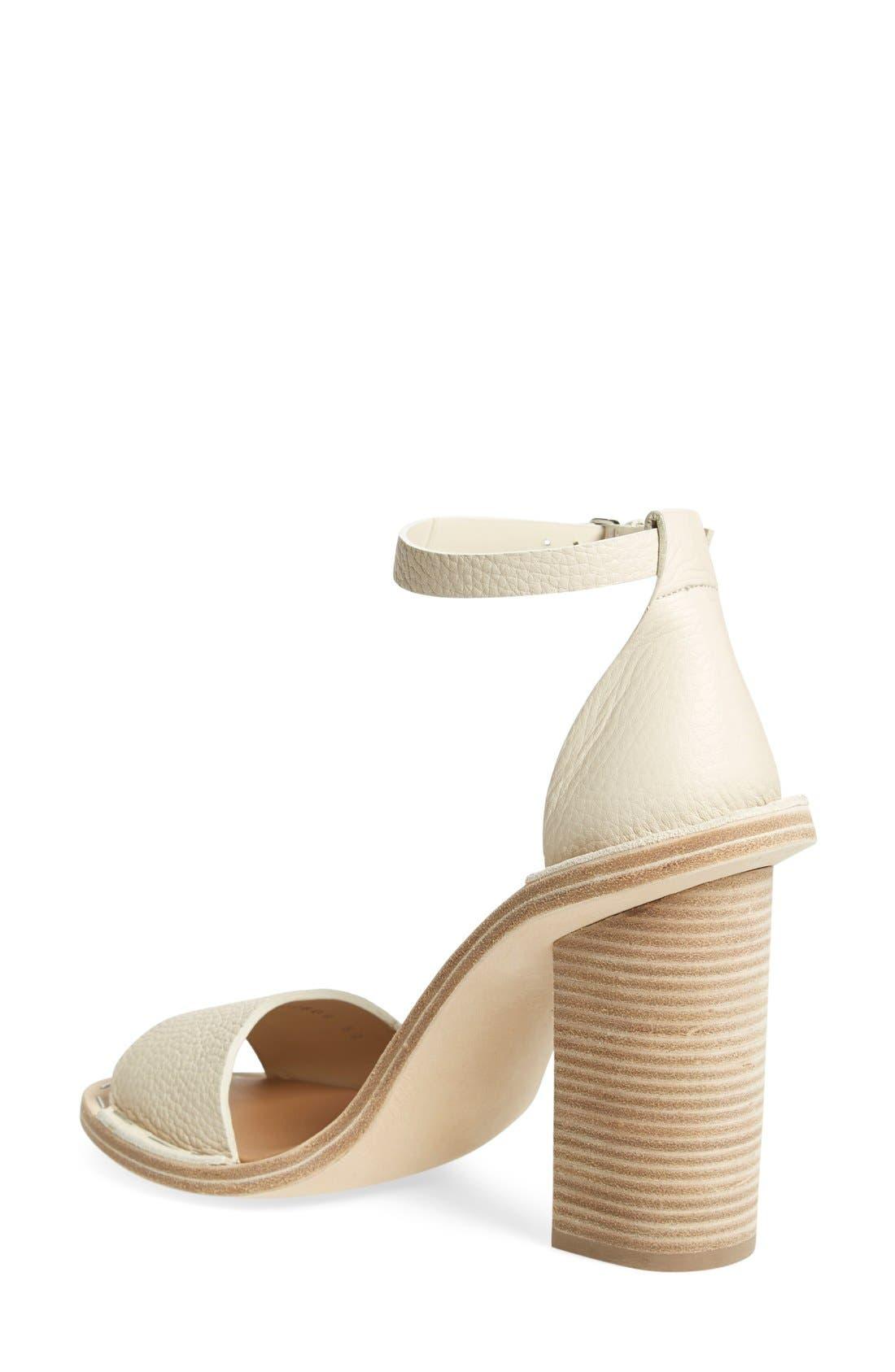 Alternate Image 2  - Balenciaga Wood Heel Sandal (Women)