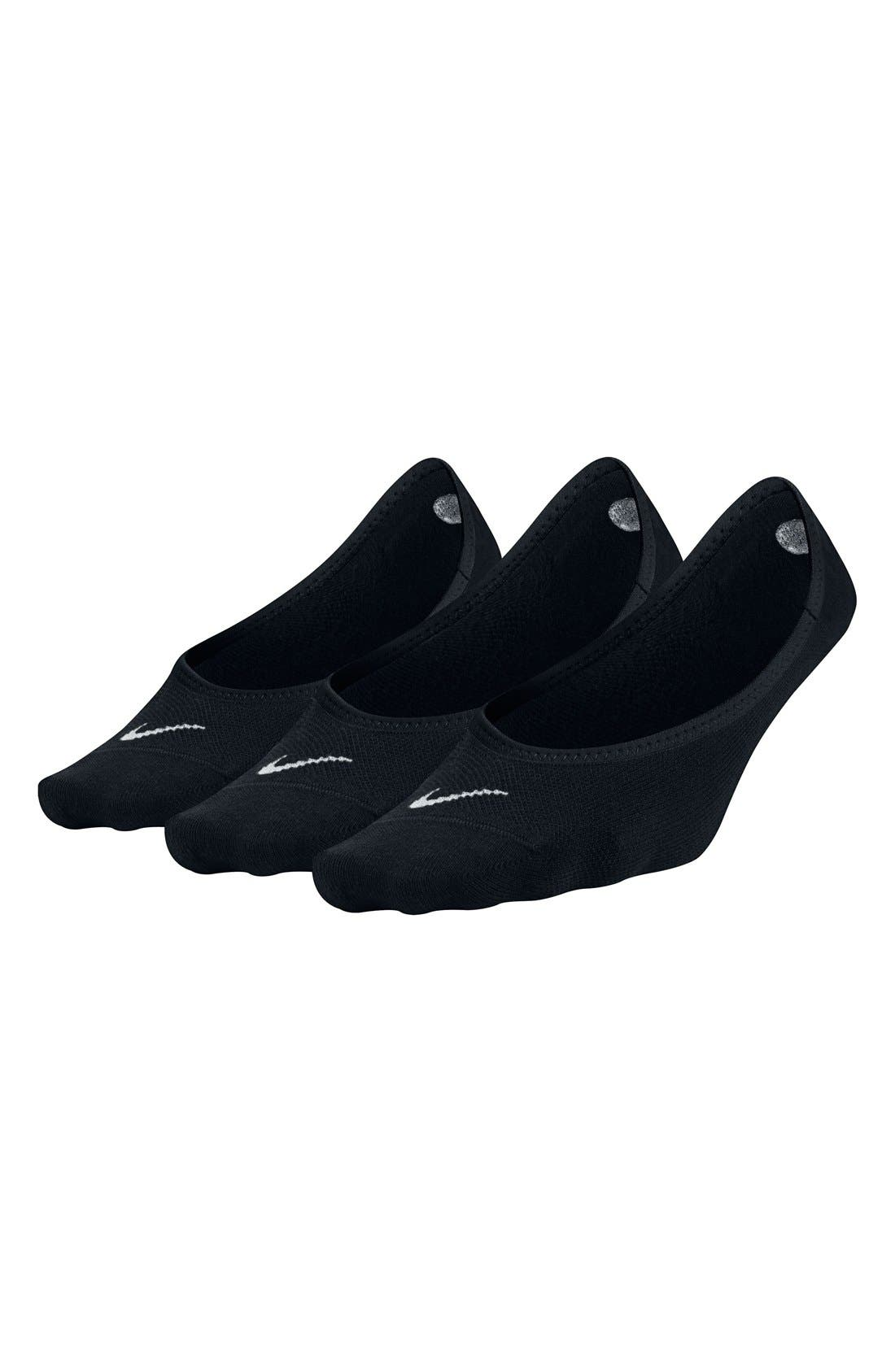 Alternate Image 4  - Nike 3-Pack No-Show Socks