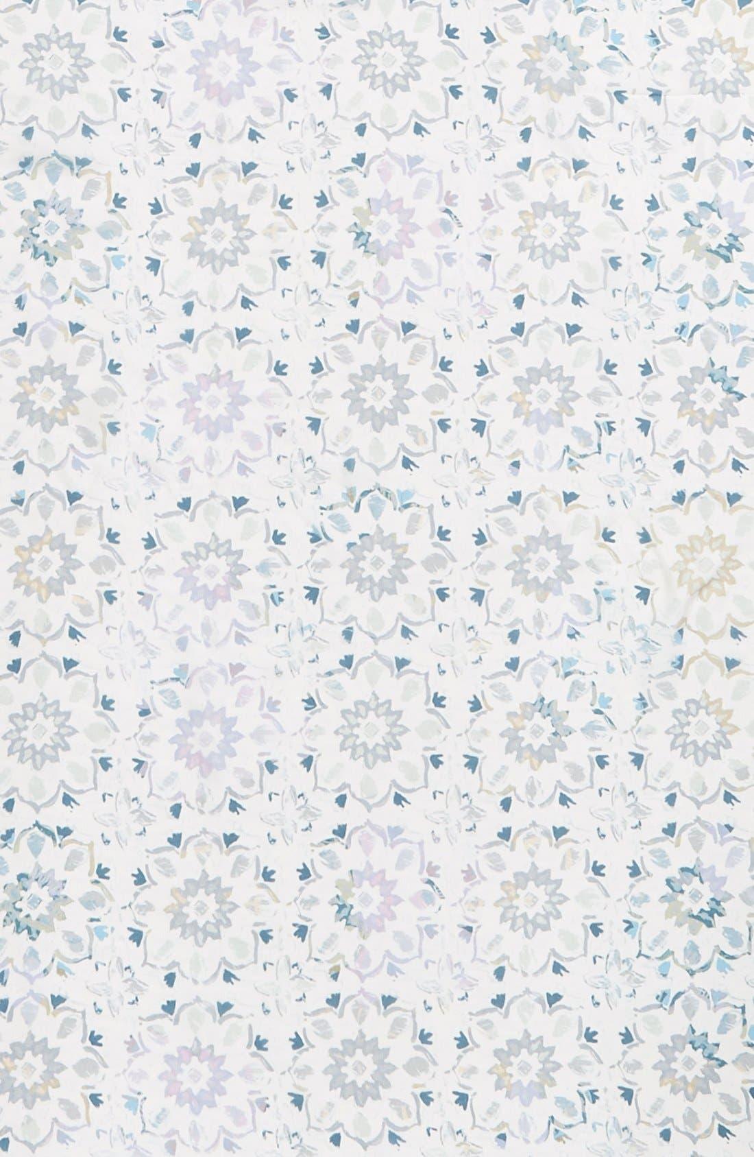 Alternate Image 3  - Nordstrom Spliced Print Silk Scarf