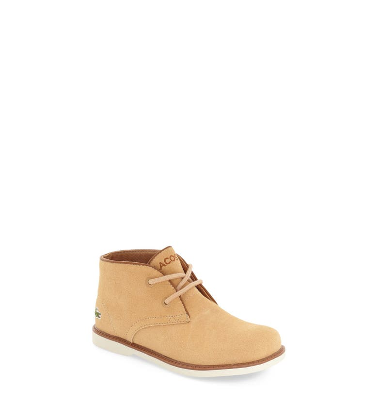 Lacoste 39 Sheerbrooke 39 Chukka Boot Toddler Little Kid Nordstrom
