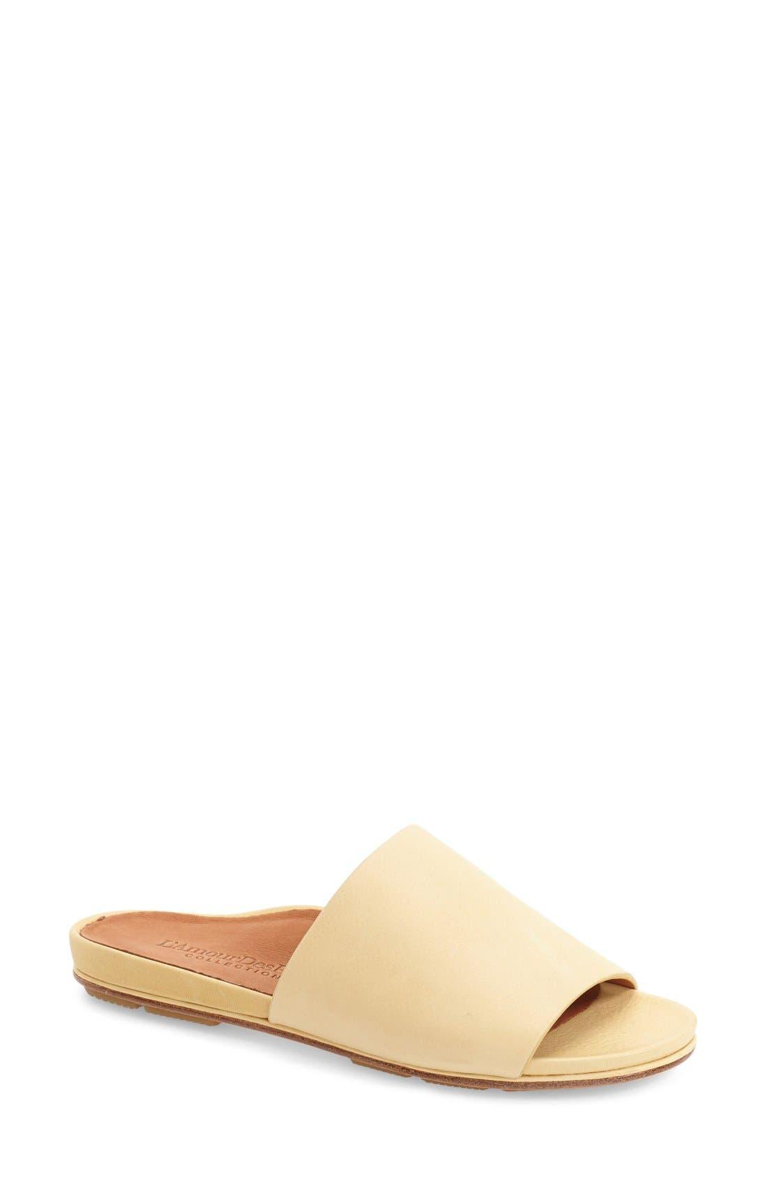L'AMOUR DES PIEDS 'Daney' Flat Slide Sandal