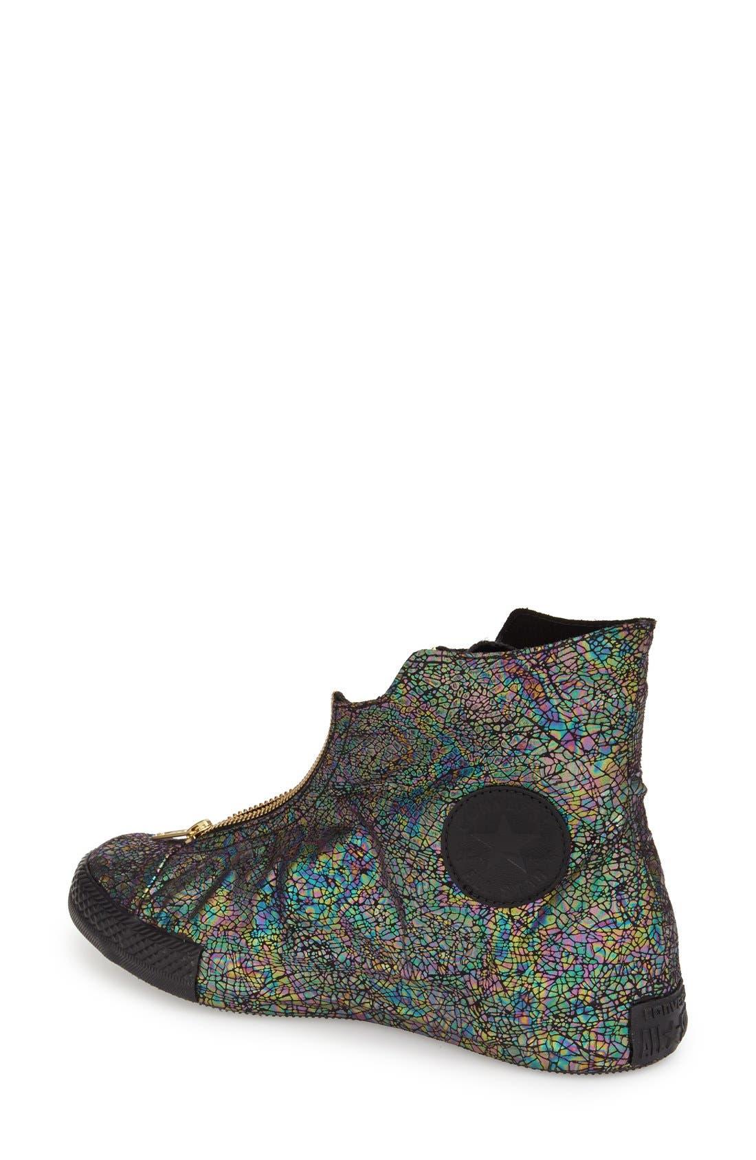 Alternate Image 2  - Converse Chuck Taylor® All Star® 'Oil Slick Shroud' High Top Sneaker (Women)