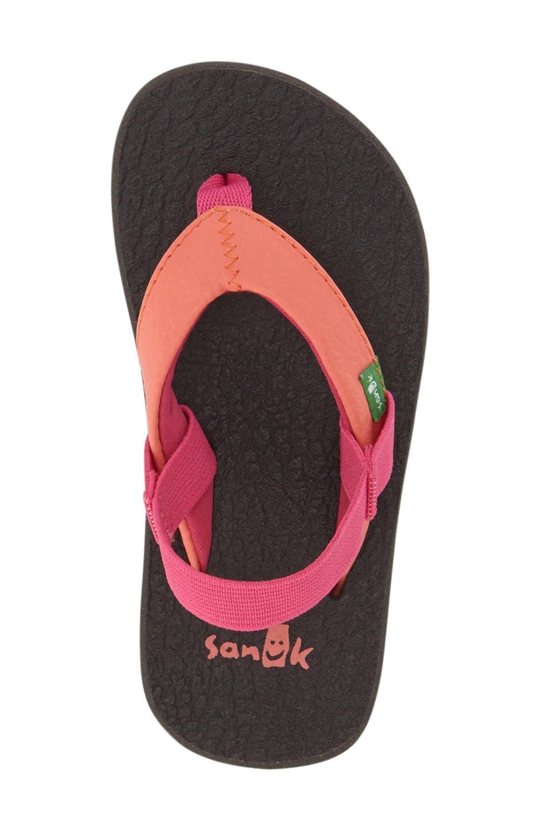 Alternate Image 3  - Sanuk 'Yoga Mat' Sandal (Toddler, Little Kid & Big Kid)