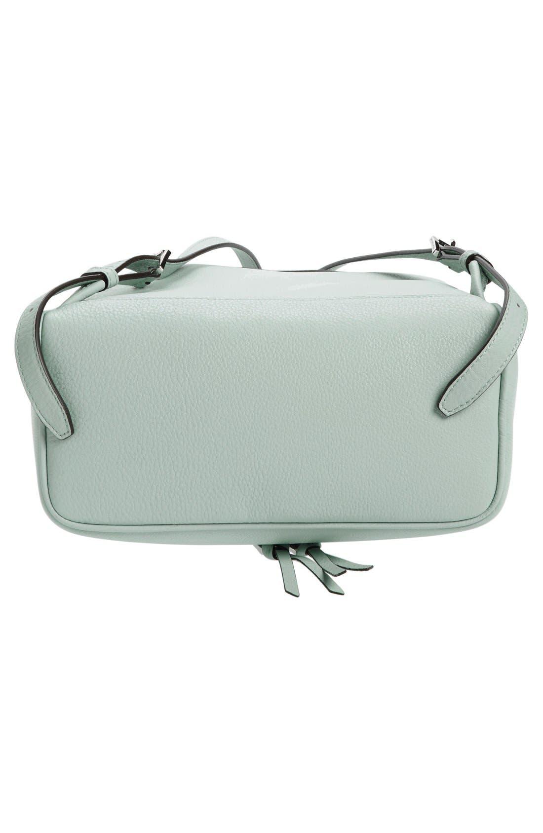 Alternate Image 6  - MICHAEL Michael Kors 'Small Rhea Zip' Leather Backpack
