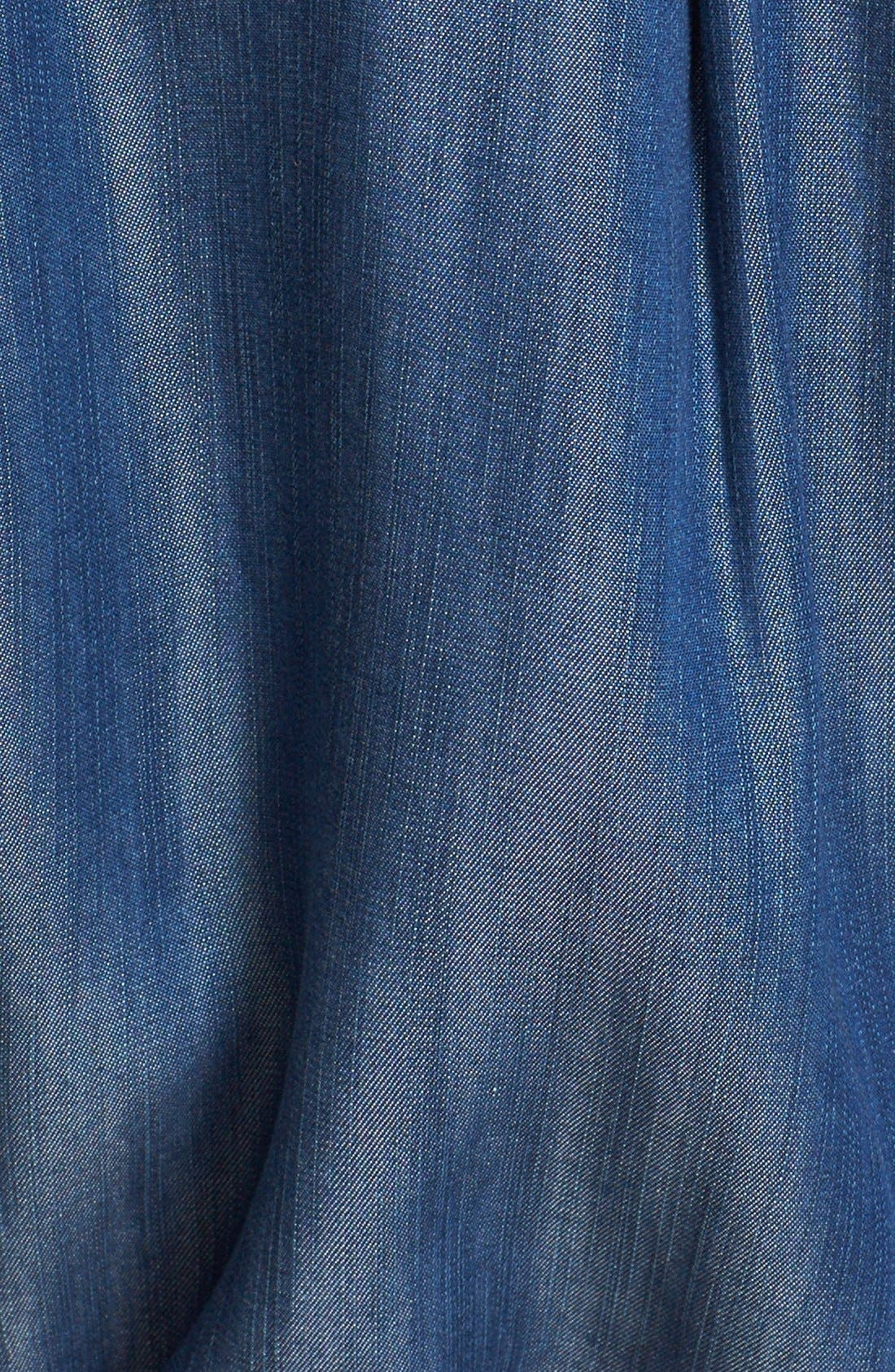 Alternate Image 5  - Soft Joie 'Lilyana' Roll Sleeve Shirtdress