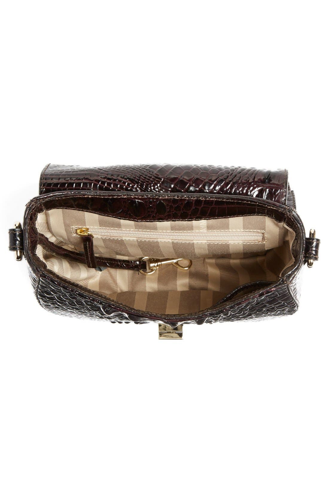 Alternate Image 4  - Brahmin 'Tillie' Embossed Leather Crossbody Bag (Nordstrom Exclusive)