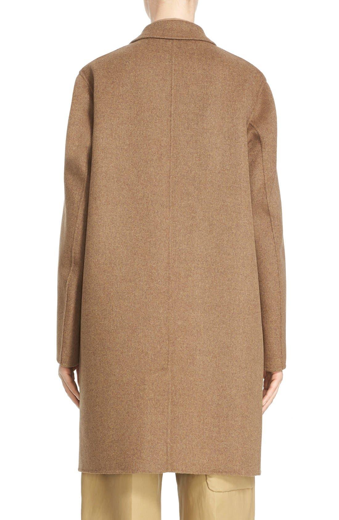 Alternate Image 2  - Sofie D'Hoore 'Click' Wool & Cashmere Long Coat