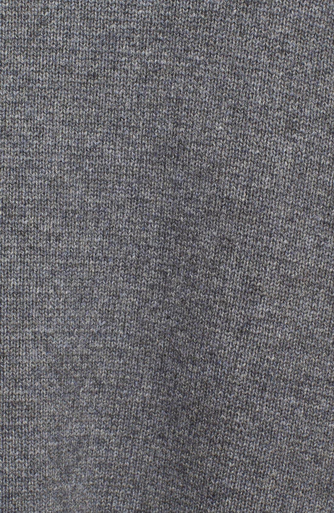 Alternate Image 6  - Vince Colorblock Wool & Cashmere Knit Car Coat