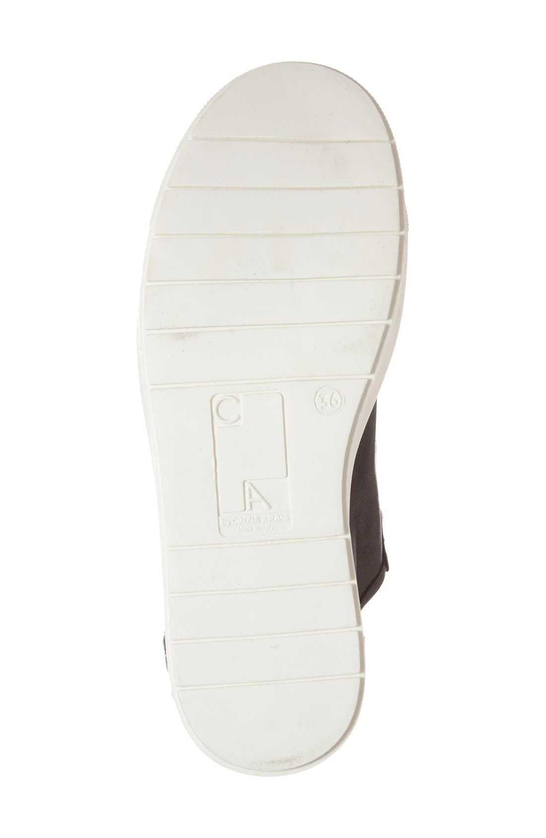 Alternate Image 4  - CA by CINZIA ARAIA Lace-Up Leather Sneaker (Women)