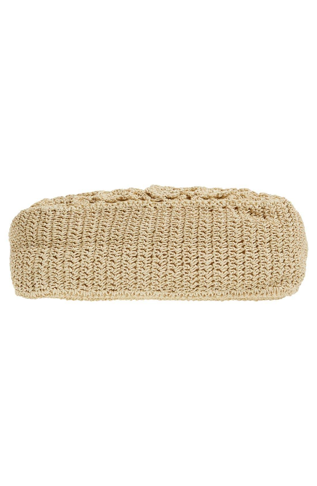 Alternate Image 6  - Straw Studios Crochet Tote