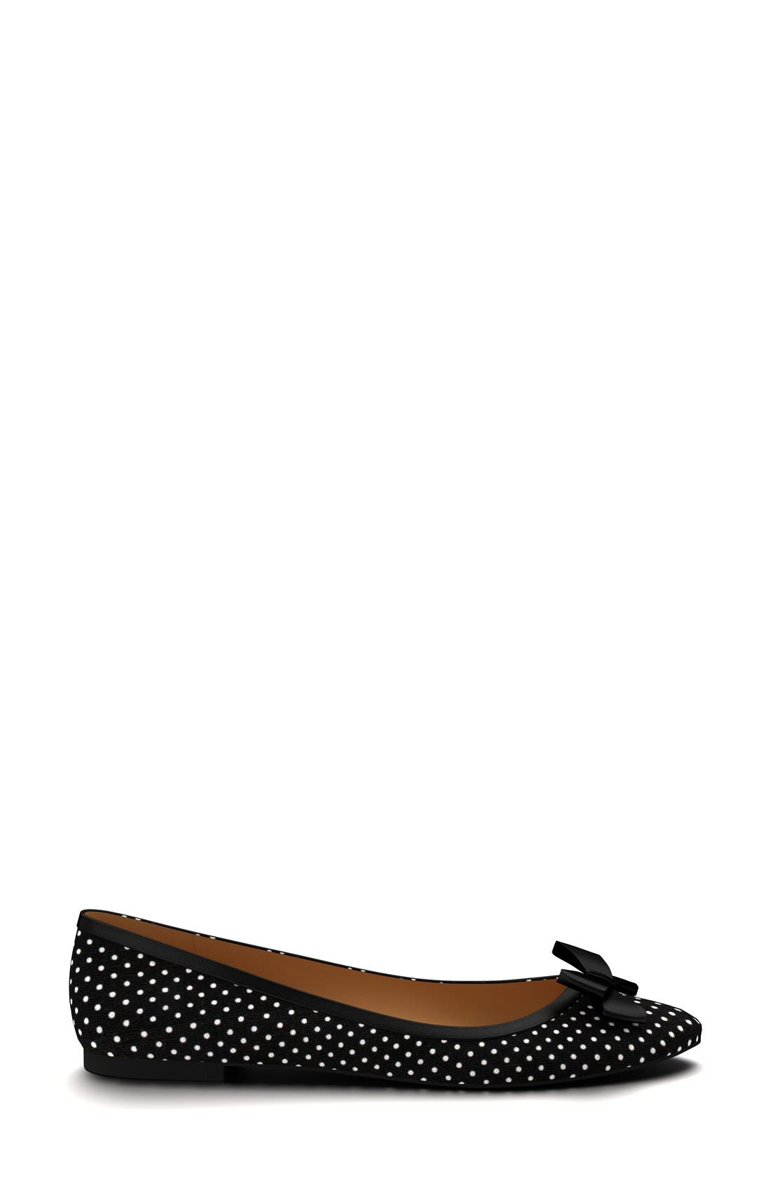 Alternate Image 3  - Shoes of Prey Polka Dot Ballet Flat (Women)