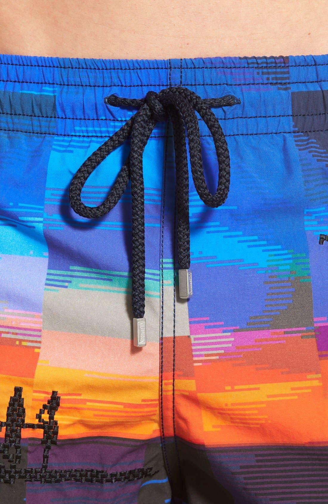 Alternate Image 4  - Vilebrequin 'Motu Tanger' Embroidered Swim Trunks