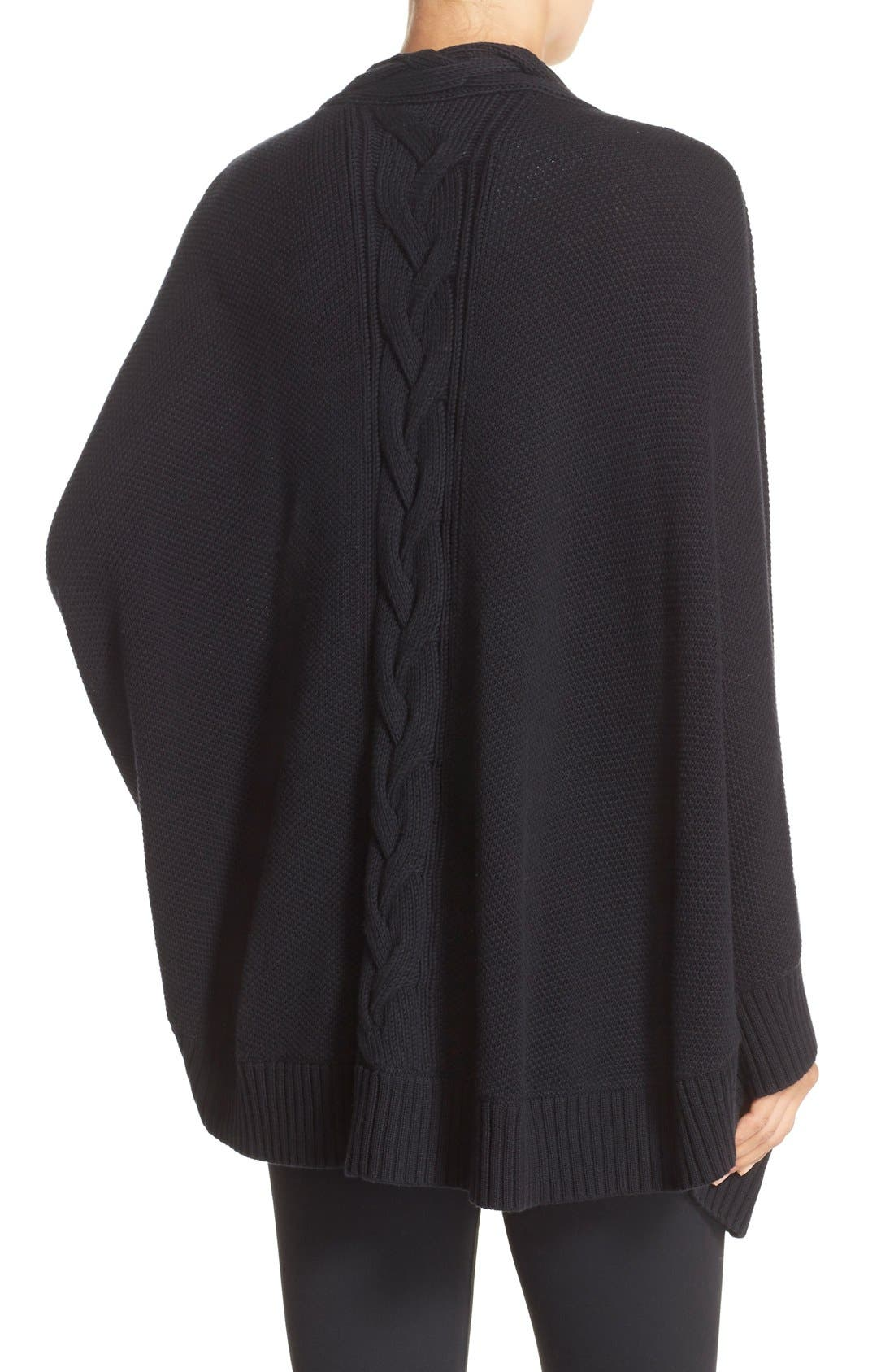 Alternate Image 2  - UGG® 'Anjeline' Knit Cape
