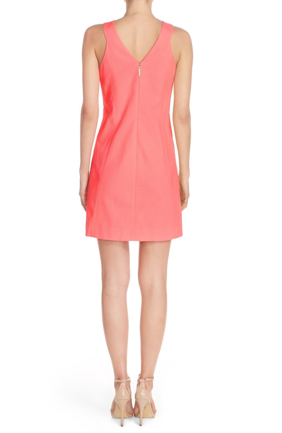 Alternate Image 2  - Lilly Pulitzer® 'Largo' Cotton Piqué Sheath Dress