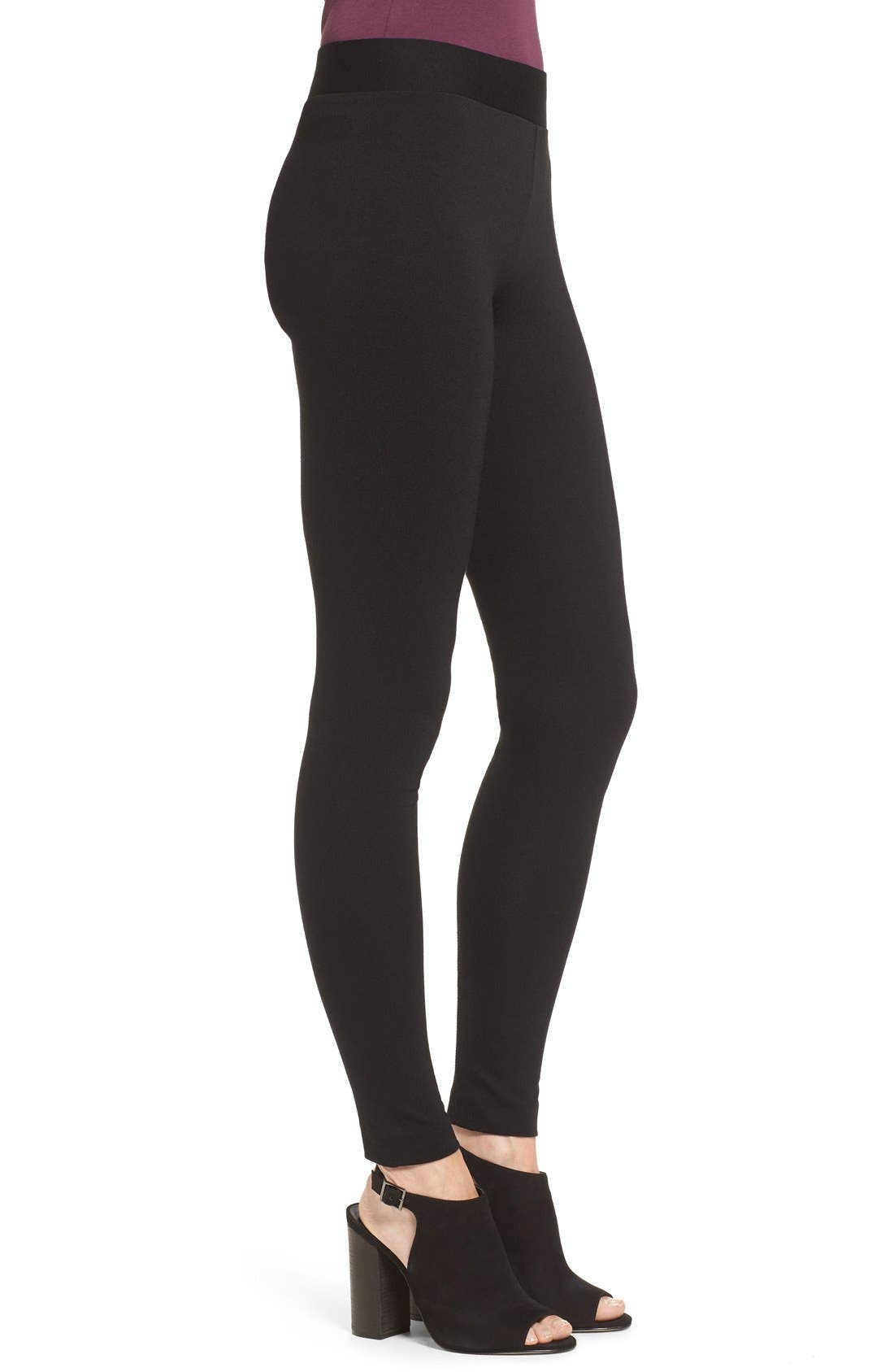 Alternate Image 3  - Two by Vince Camuto Seamed Back Leggings (Regular & Petite)
