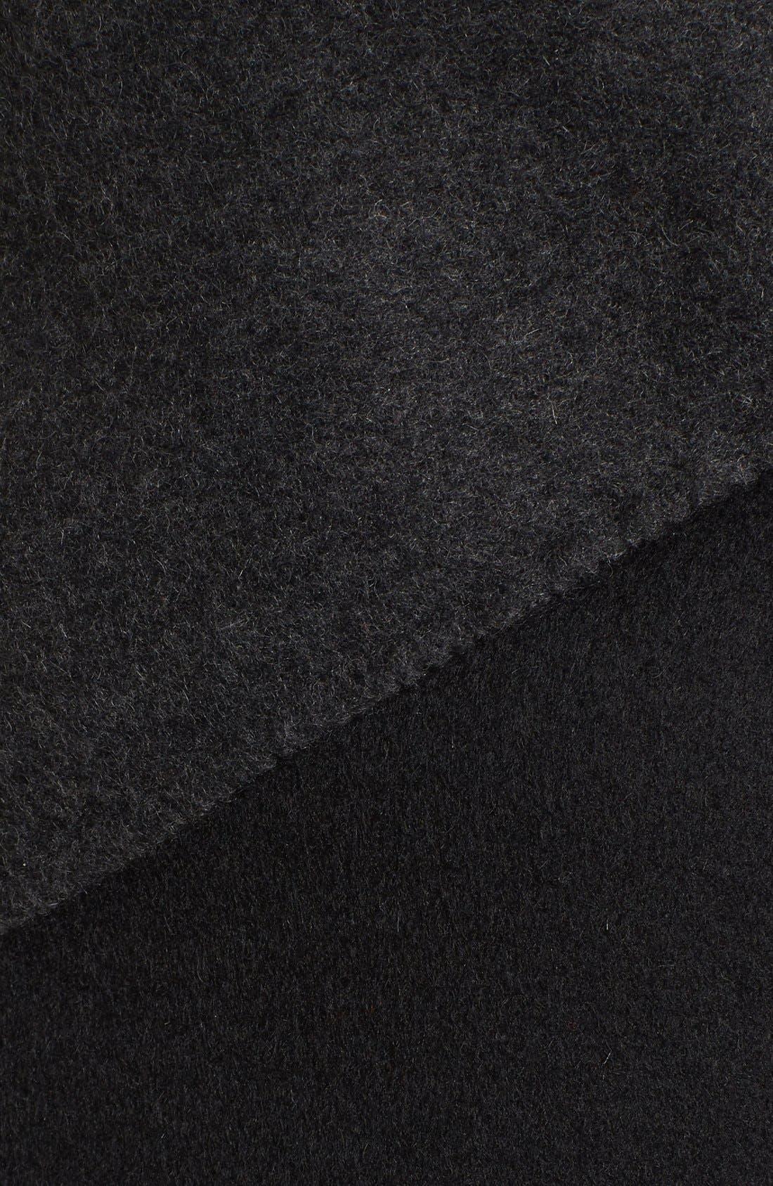 Alternate Image 5  - Rudsak Drape Front Leather Sleeve Jacket