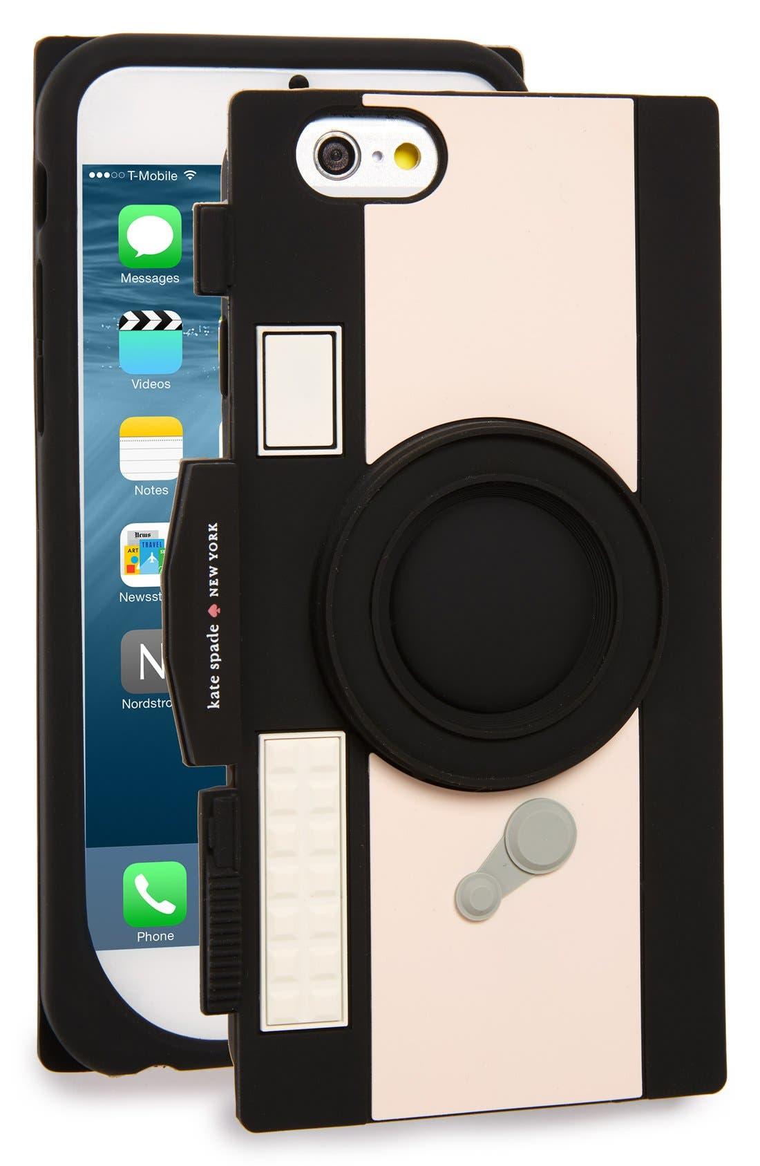 Main Image - kate spade new york 'camera' iPhone 6 & 6s case
