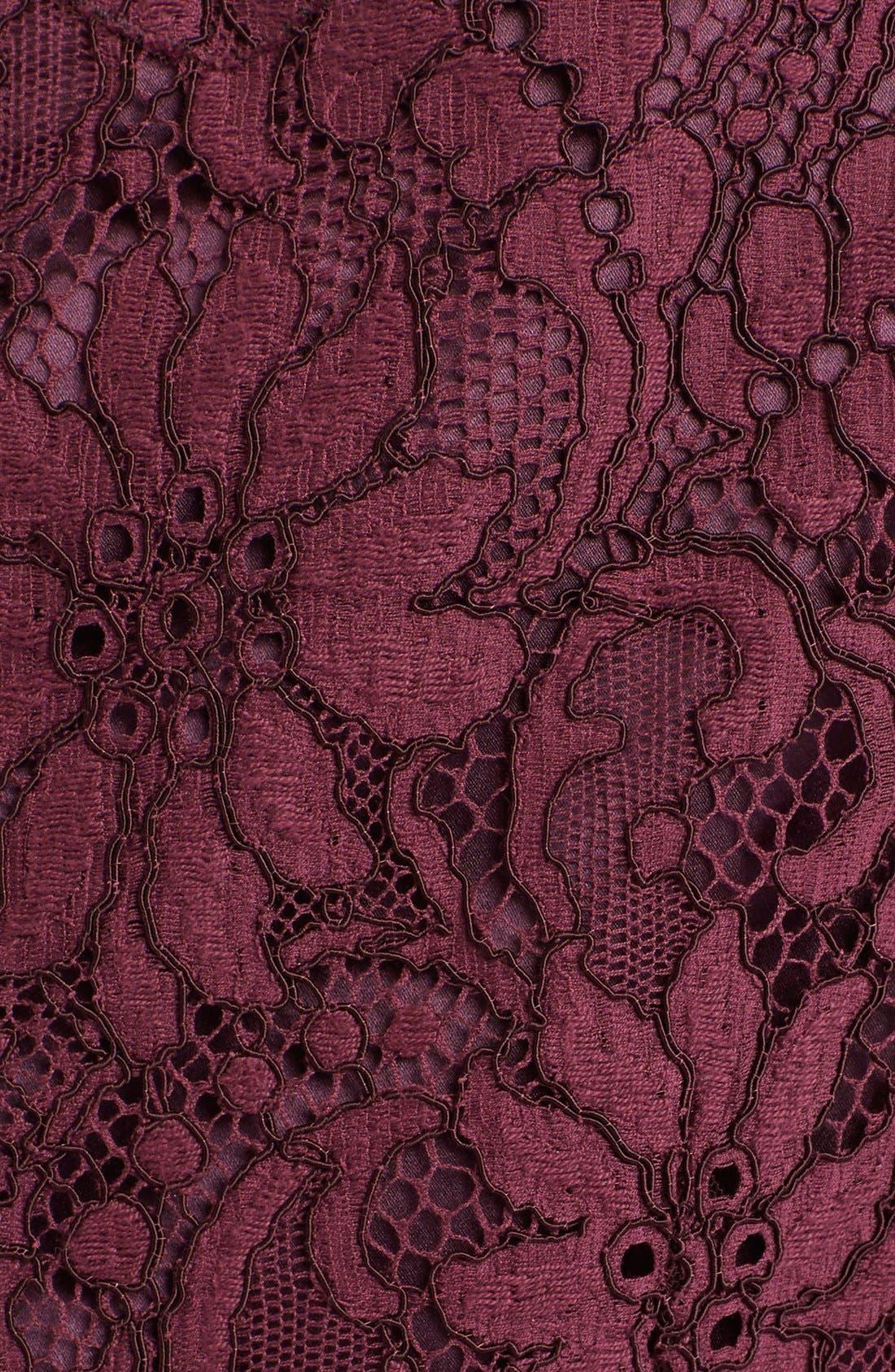 Alternate Image 3  - Dolce&Gabbana Scoop Neck Lace Shift Dress