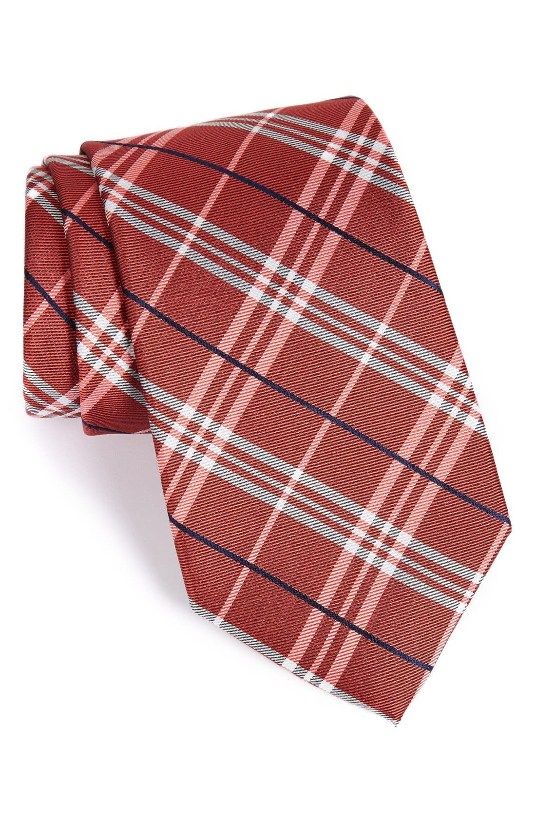 Main Image - Nordstrom Men's Shop 'Urban Plaid' Silk Tie