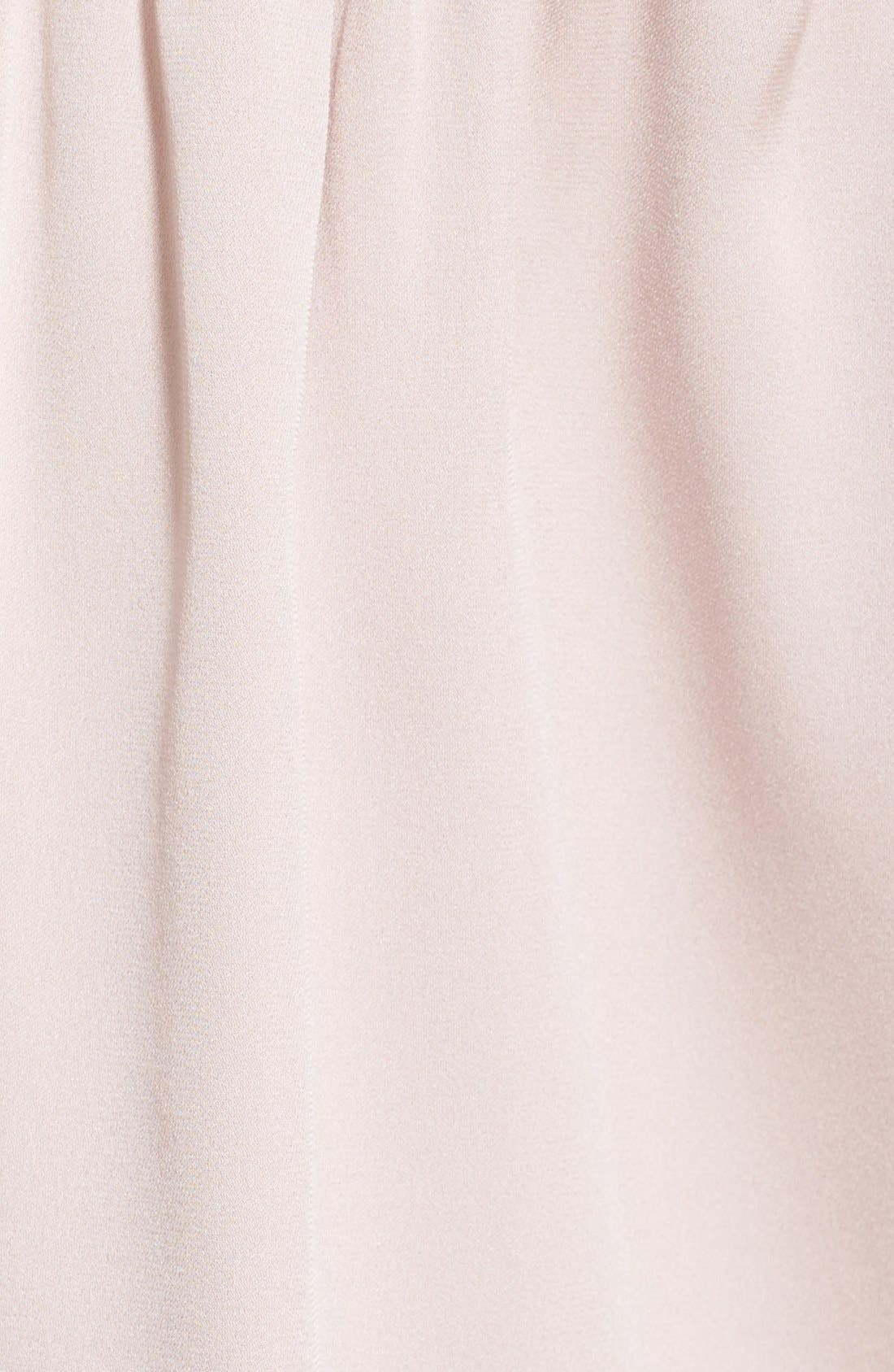 Alternate Image 5  - Milly Stretch Silk Off the Shoulder Blouse