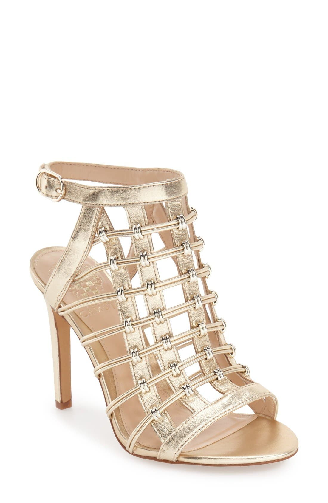 Alternate Image 1 Selected - Vince Camuto 'Kalare' Cage Sandal (Women)