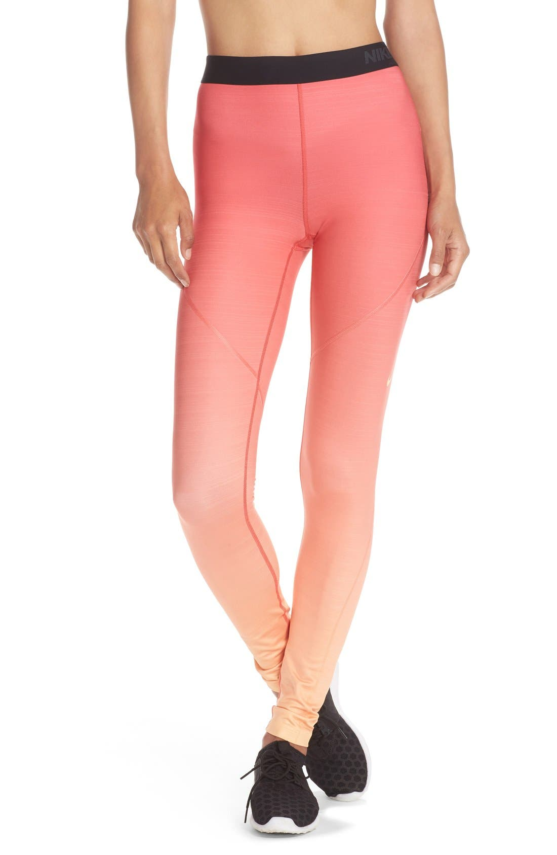 Alternate Image 1 Selected - Nike 'Pro Hyperwarm Fade' Dri-FIT Tights