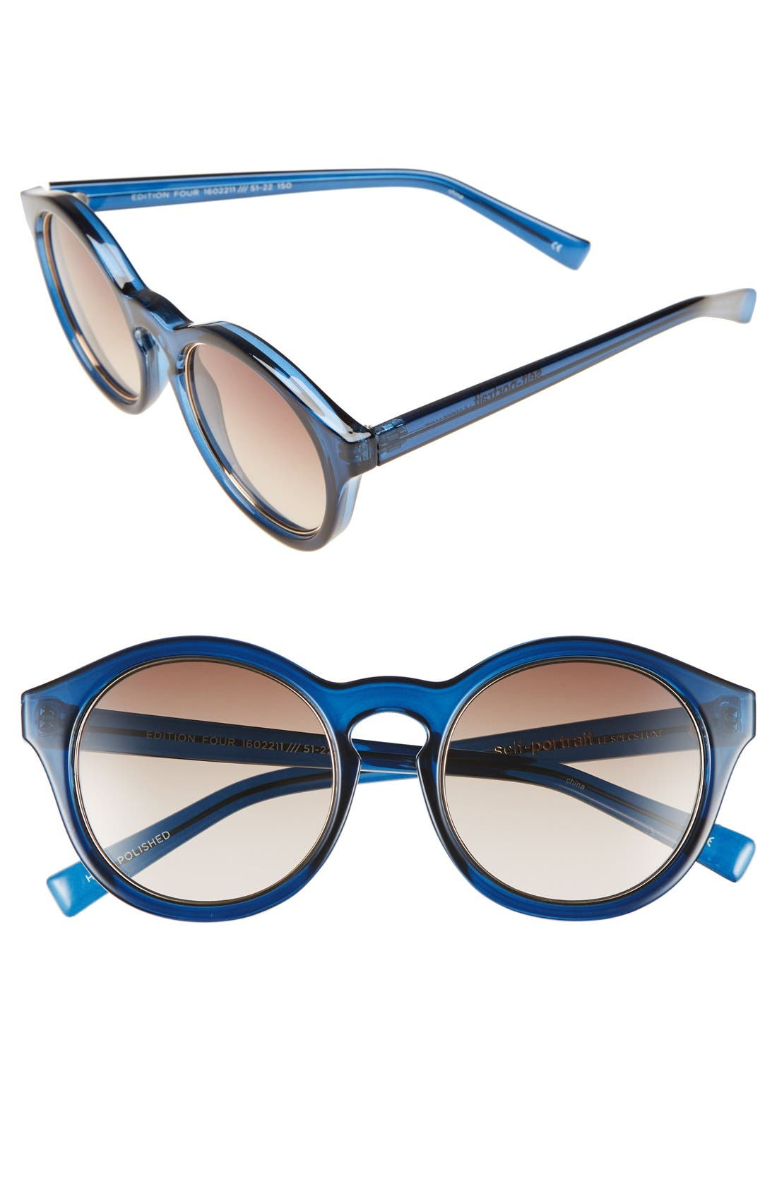 Alternate Image 1 Selected - Le Specs 'Edition Four' 51mm Sunglasses