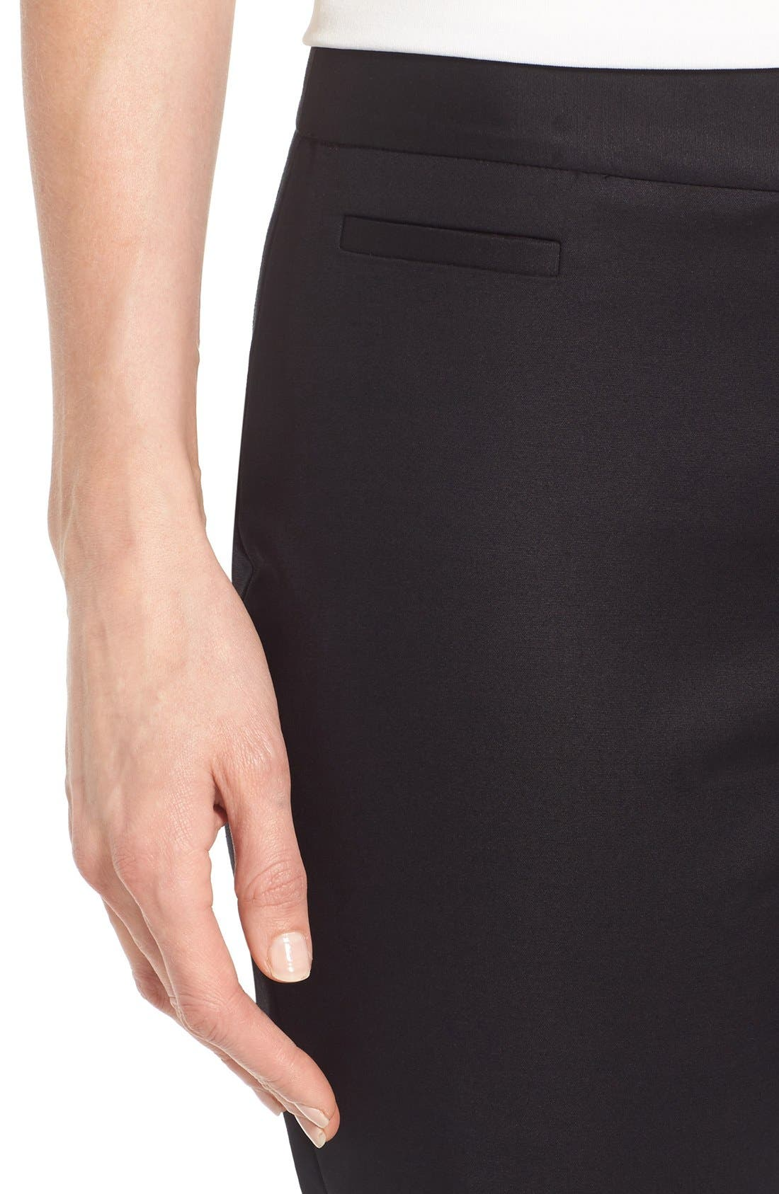 Alternate Image 4  - Cece Double Weave Slim Pants