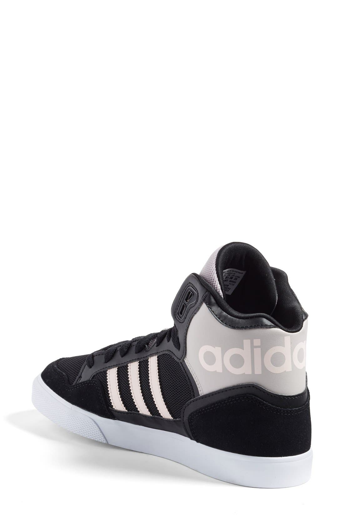 Alternate Image 2  - adidas 'Extaball' High Top Sneaker (Women)