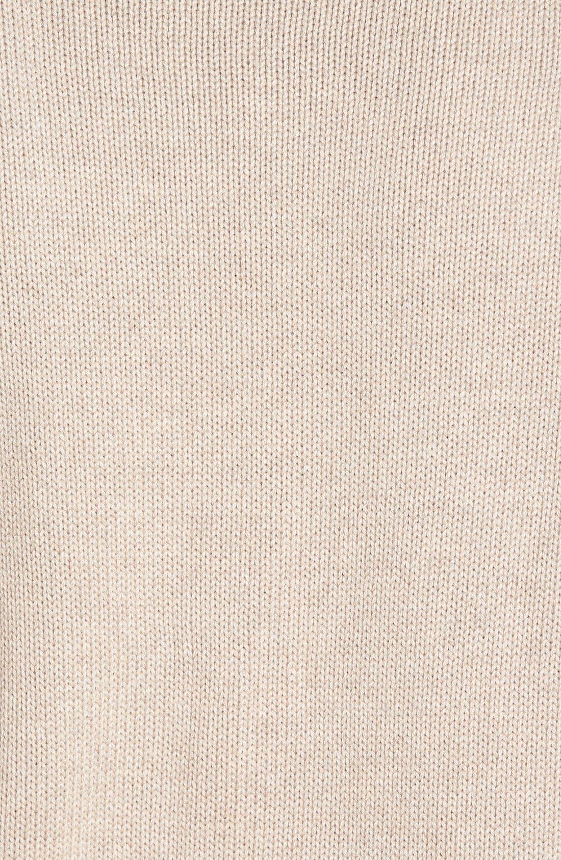 Alternate Image 5  - Nordstrom Men's Shop Chunky Turtleneck Sweater (Regular & Tall)