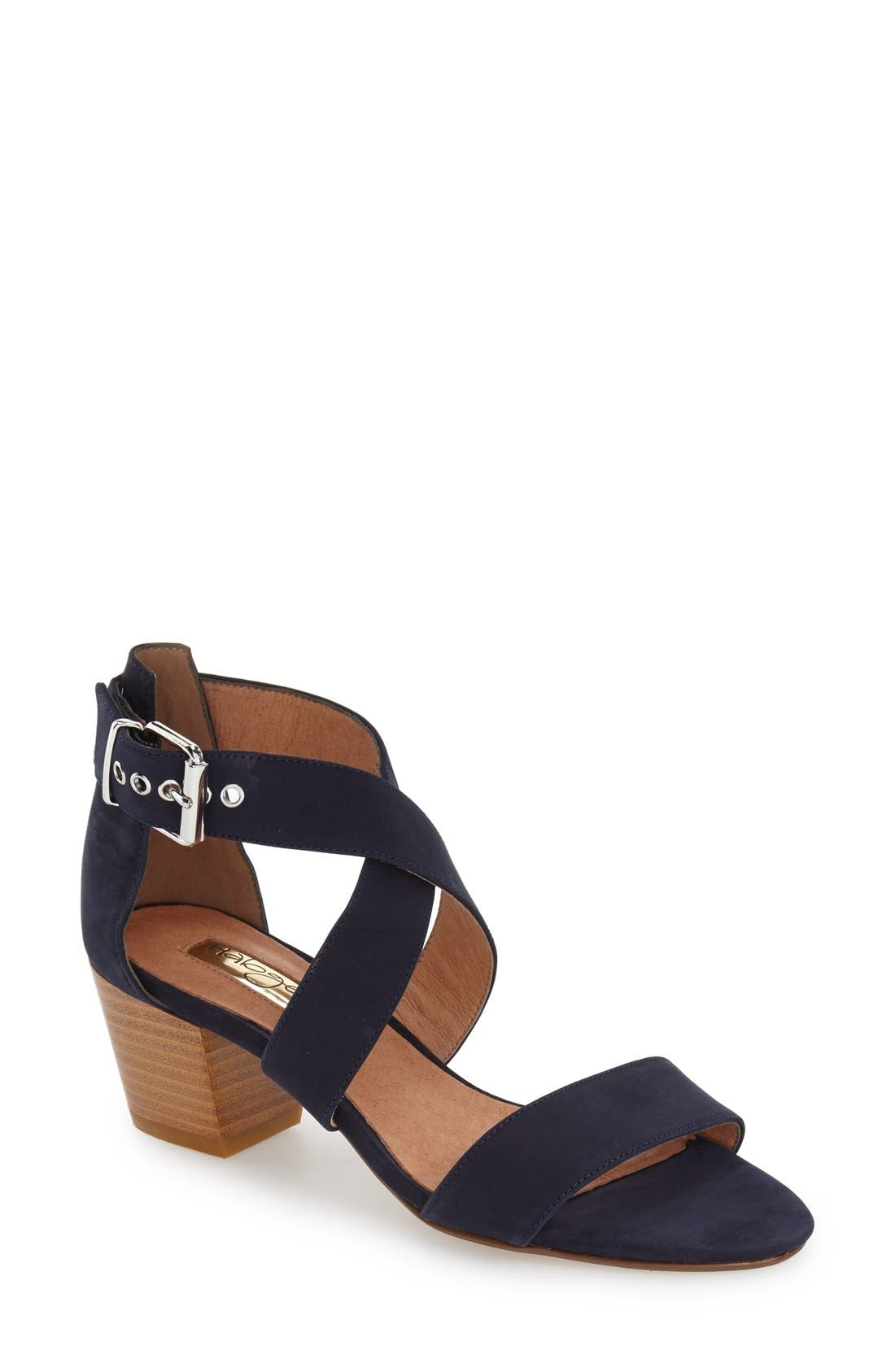 Alternate Image 1 Selected - Halogen 'Rena' Crisscross Strap Sandal (Women)