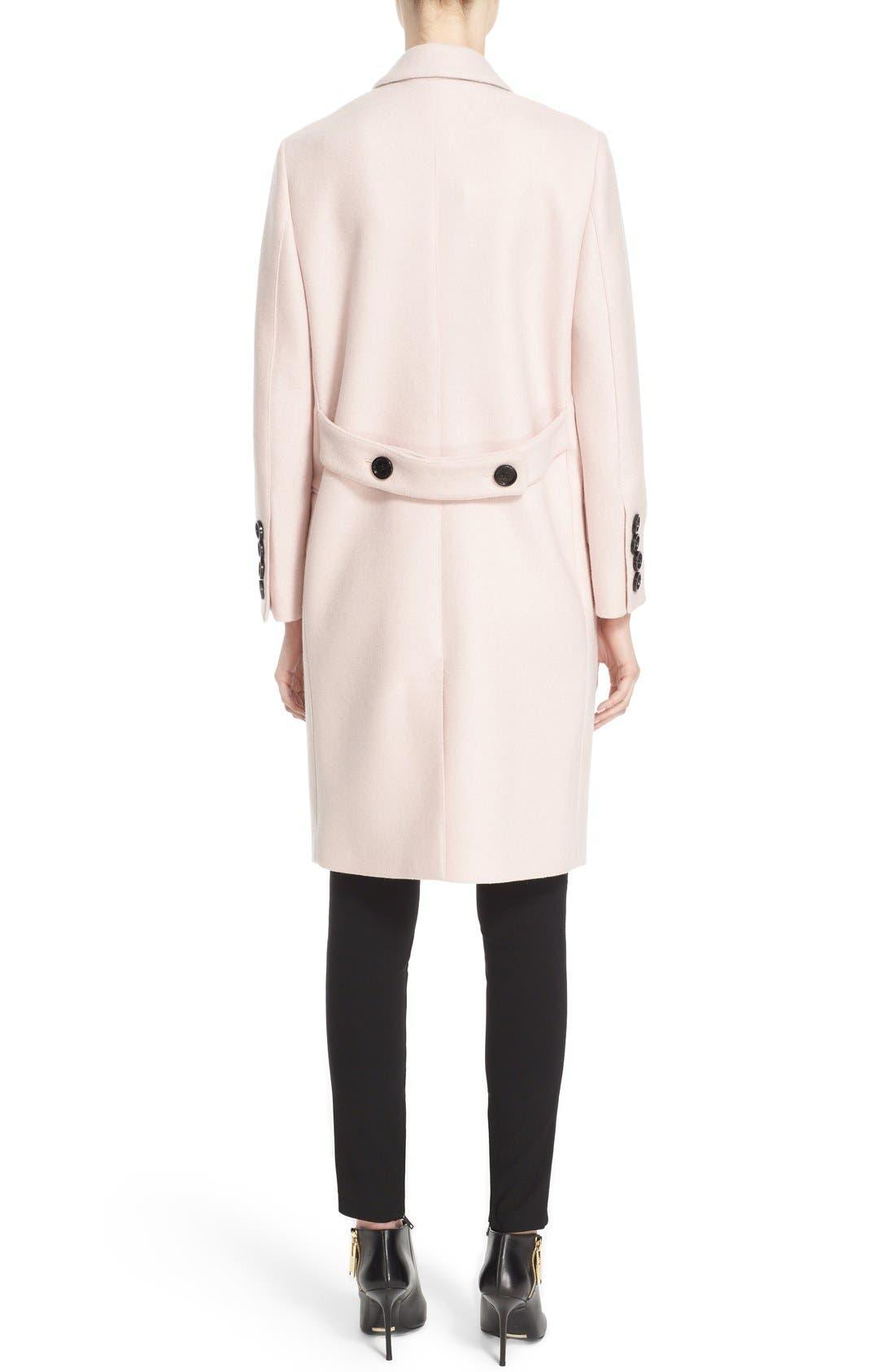 Alternate Image 2  - Burberry Alphington Wool Coat