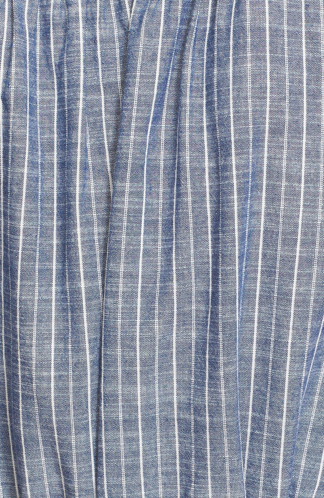 Alternate Image 5  - Joie 'Neha' Belted Cotton Split Neck Shirtdress