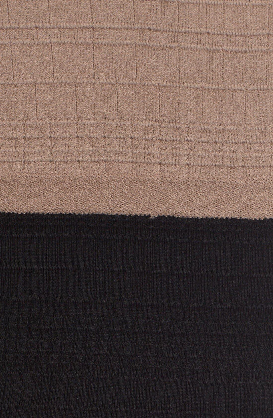 Alternate Image 3  - Narciso Rodriguez Colorblock Wool & Silk Knit Dress