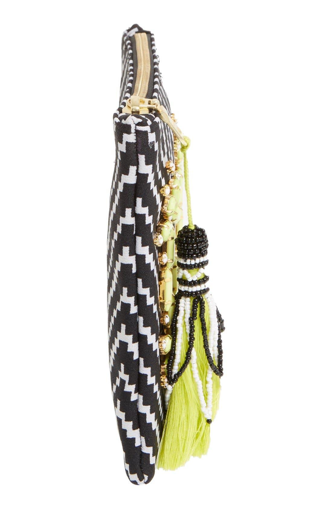 Alternate Image 5  - Shiraleah 'Asta' Embellished Zip Pouch