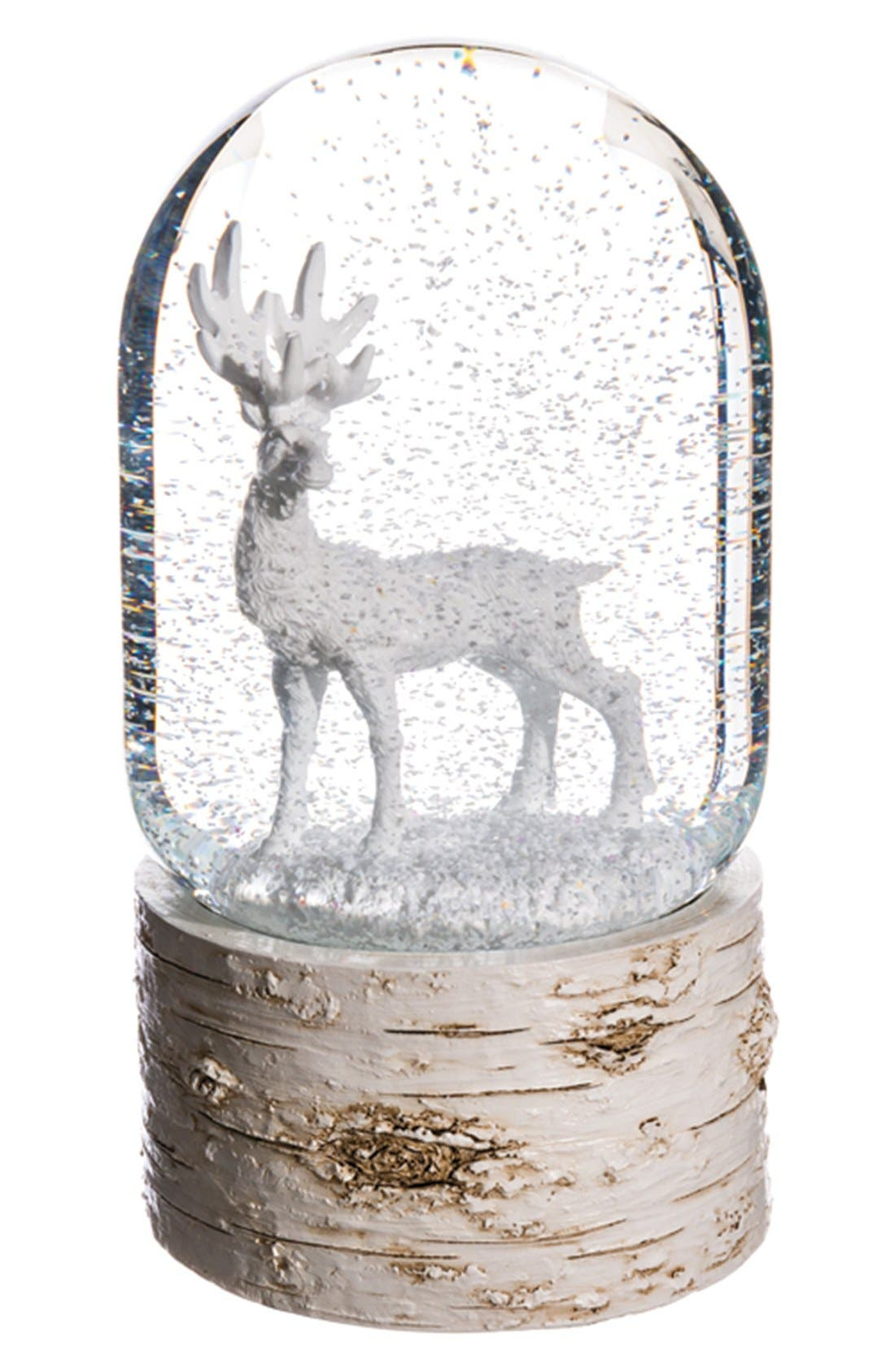 Main Image - ALLSTATE Reindeer Musical Snow Globe