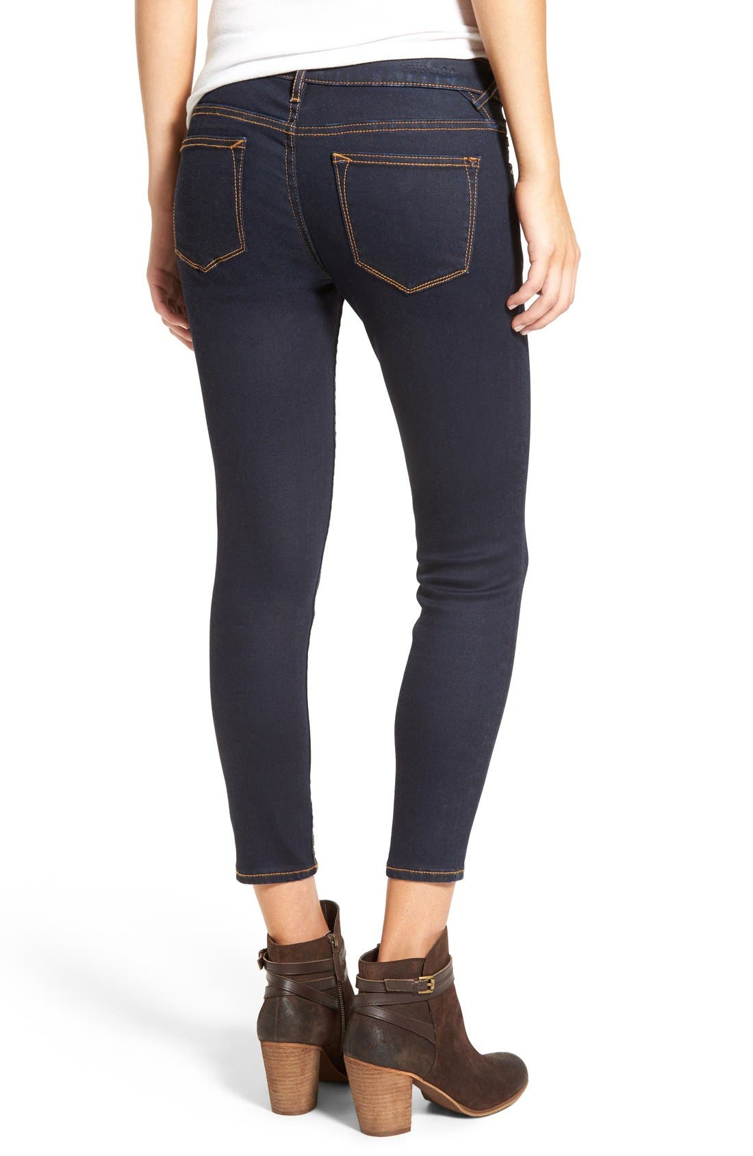 Alternate Image 3  - Vigoss Crop Skinny Jeans
