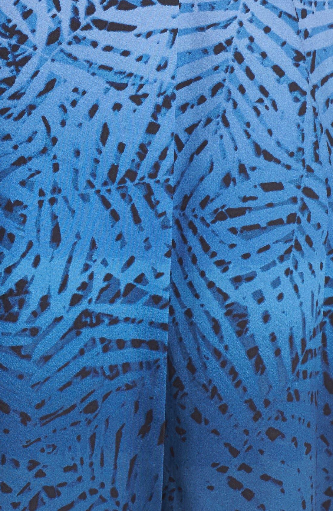 Alternate Image 6  - Maggy London Ombré Print Fit & Flare Dress