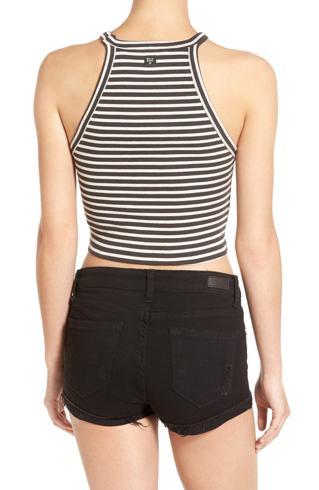 Alternate Image 2  - Billabong 'For Real' Stripe Crop Top