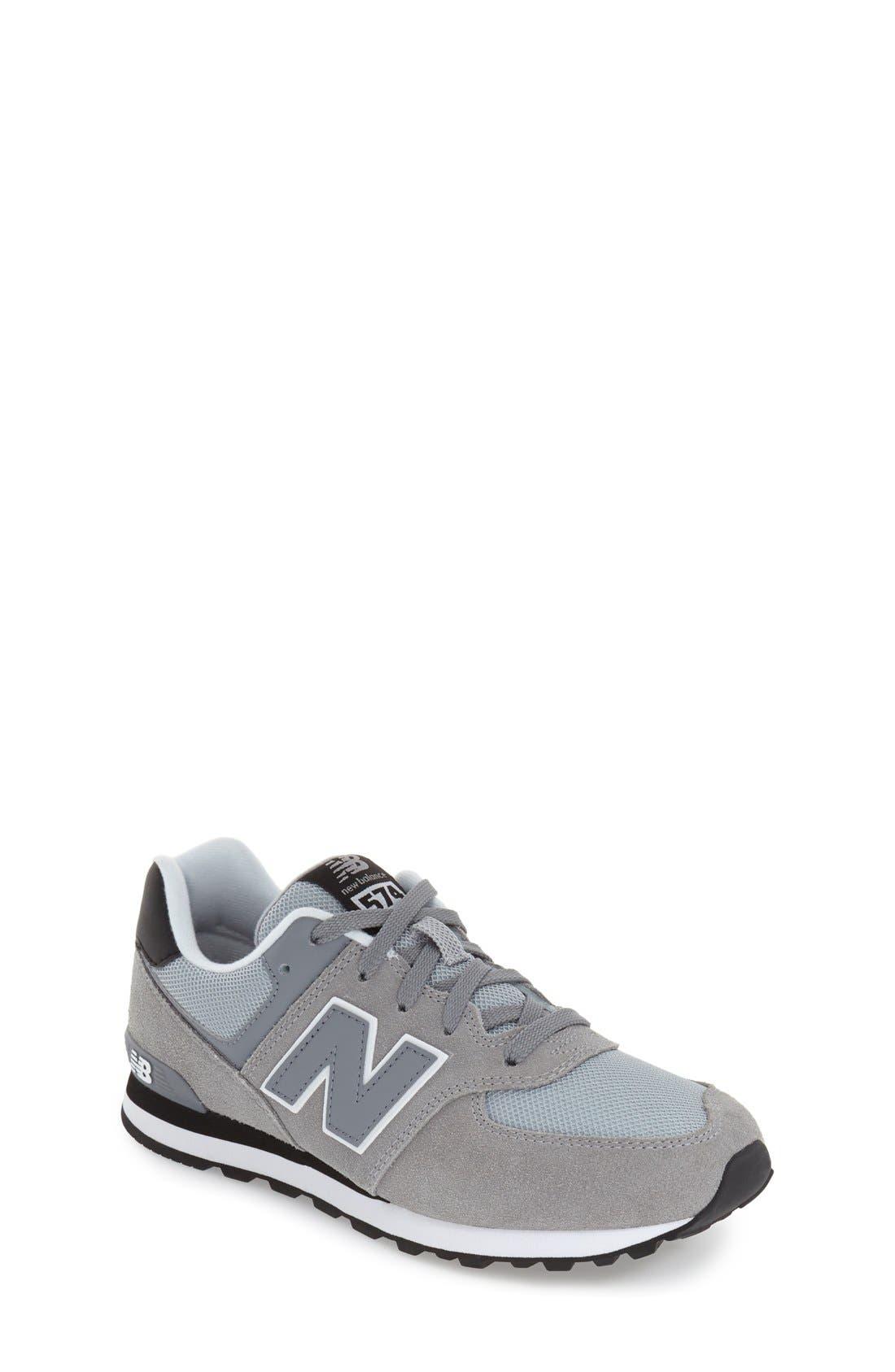 Alternate Image 1 Selected - New Balance '574 Core Plus' Sneaker (Baby, Walker, Toddler, Little Kid & Big Kid)