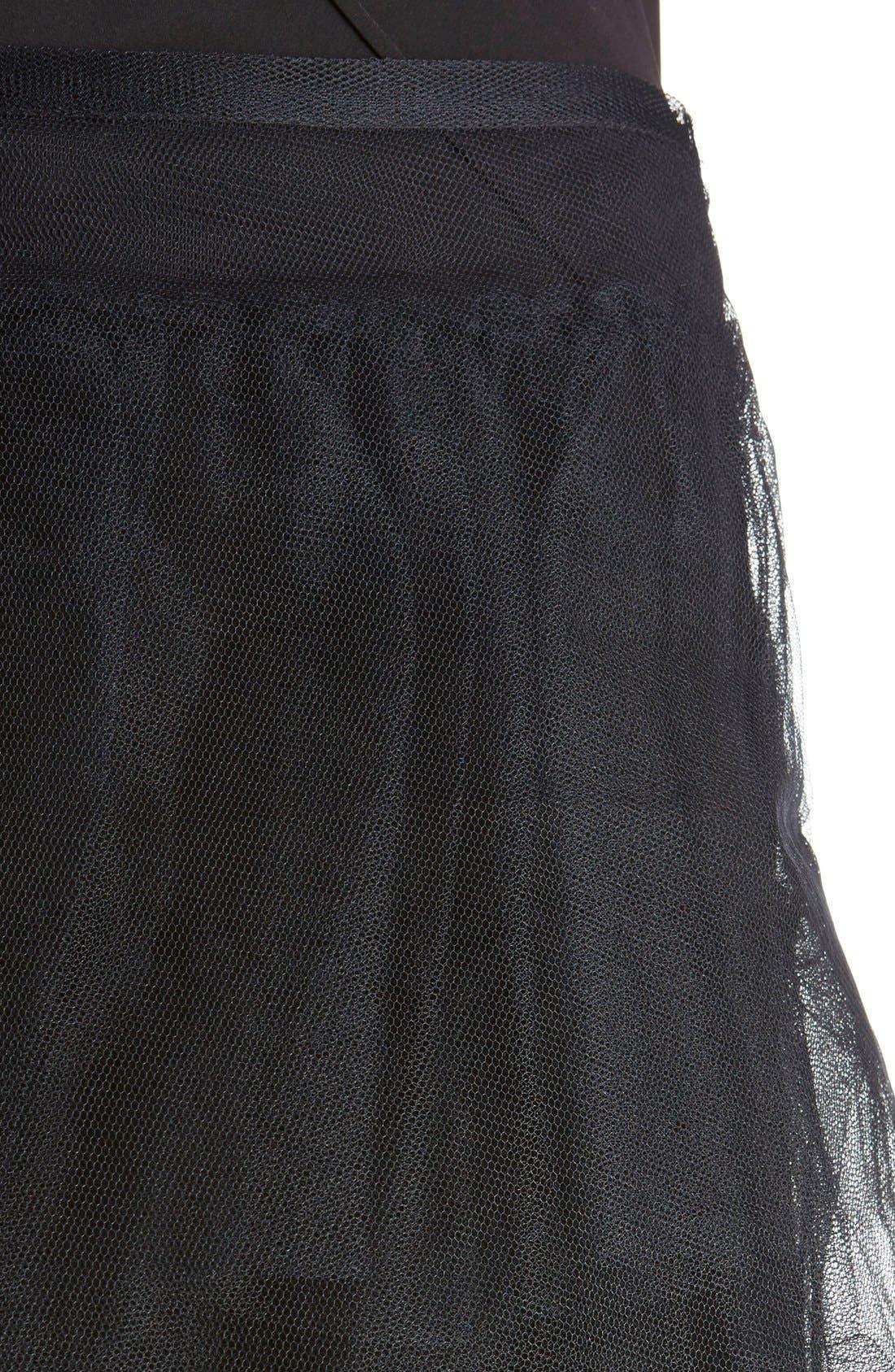 Alternate Image 6  - Simone Rocha Tiered Net Skirt