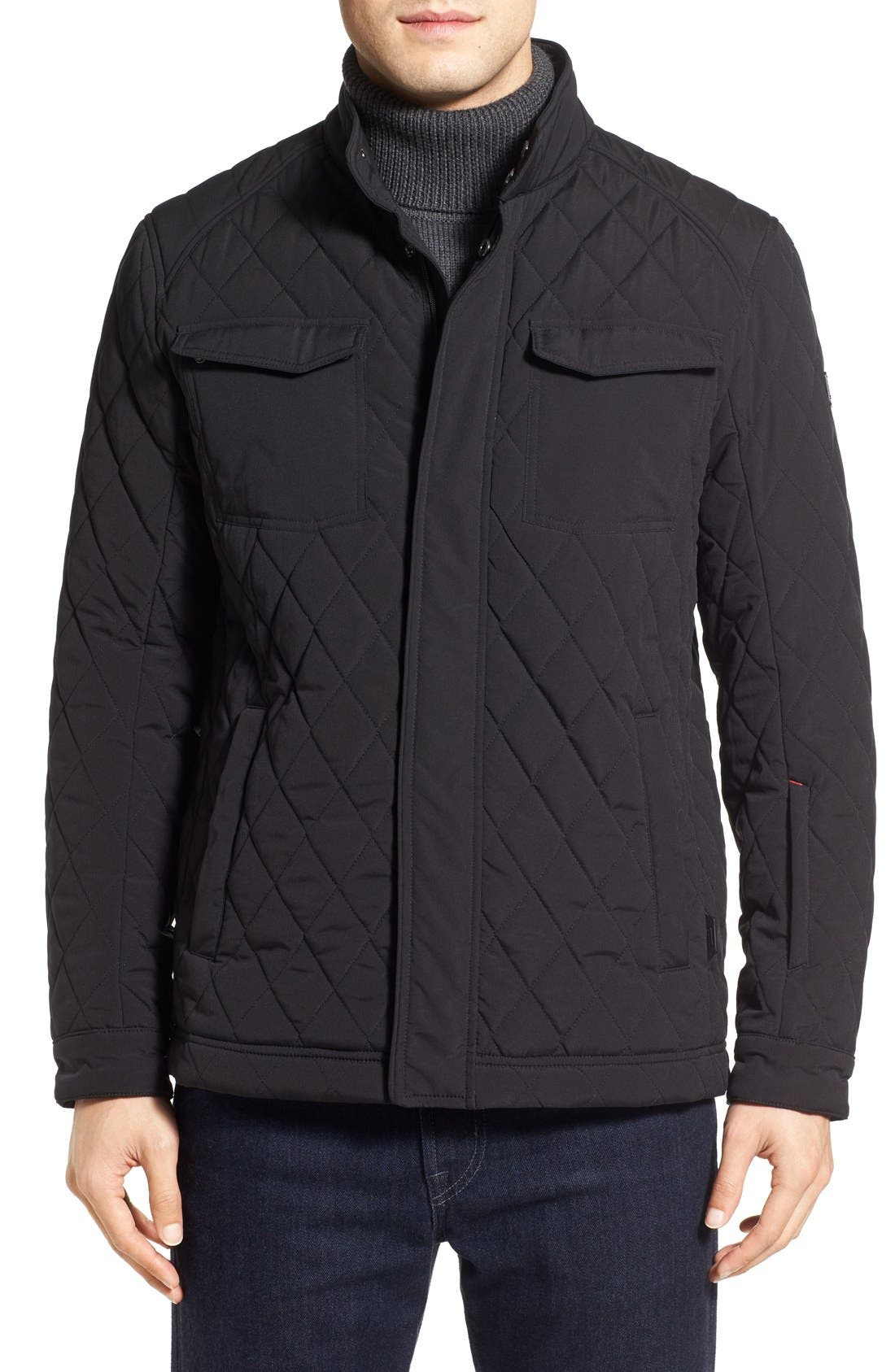 Alternate Image 1 Selected - Tumi Quilted Moto Jacket